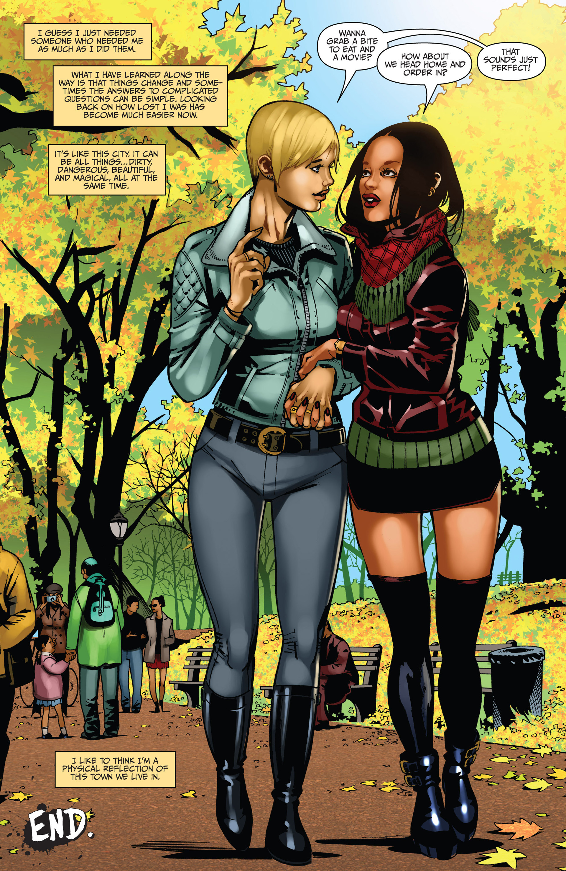 Read online Sex and Violence comic -  Issue # Full - 61