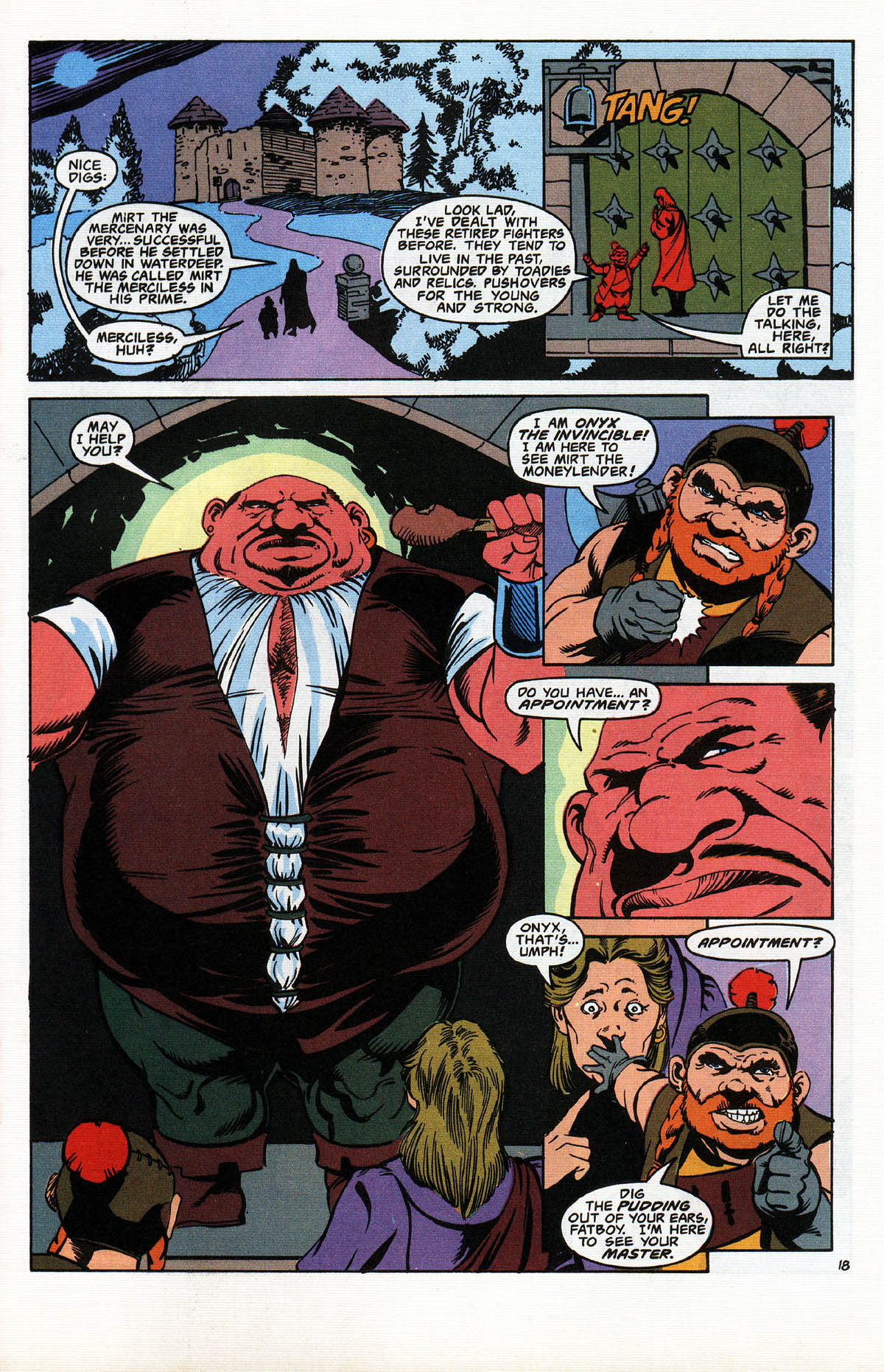 Read online Advanced Dungeons & Dragons comic -  Issue #10 - 22