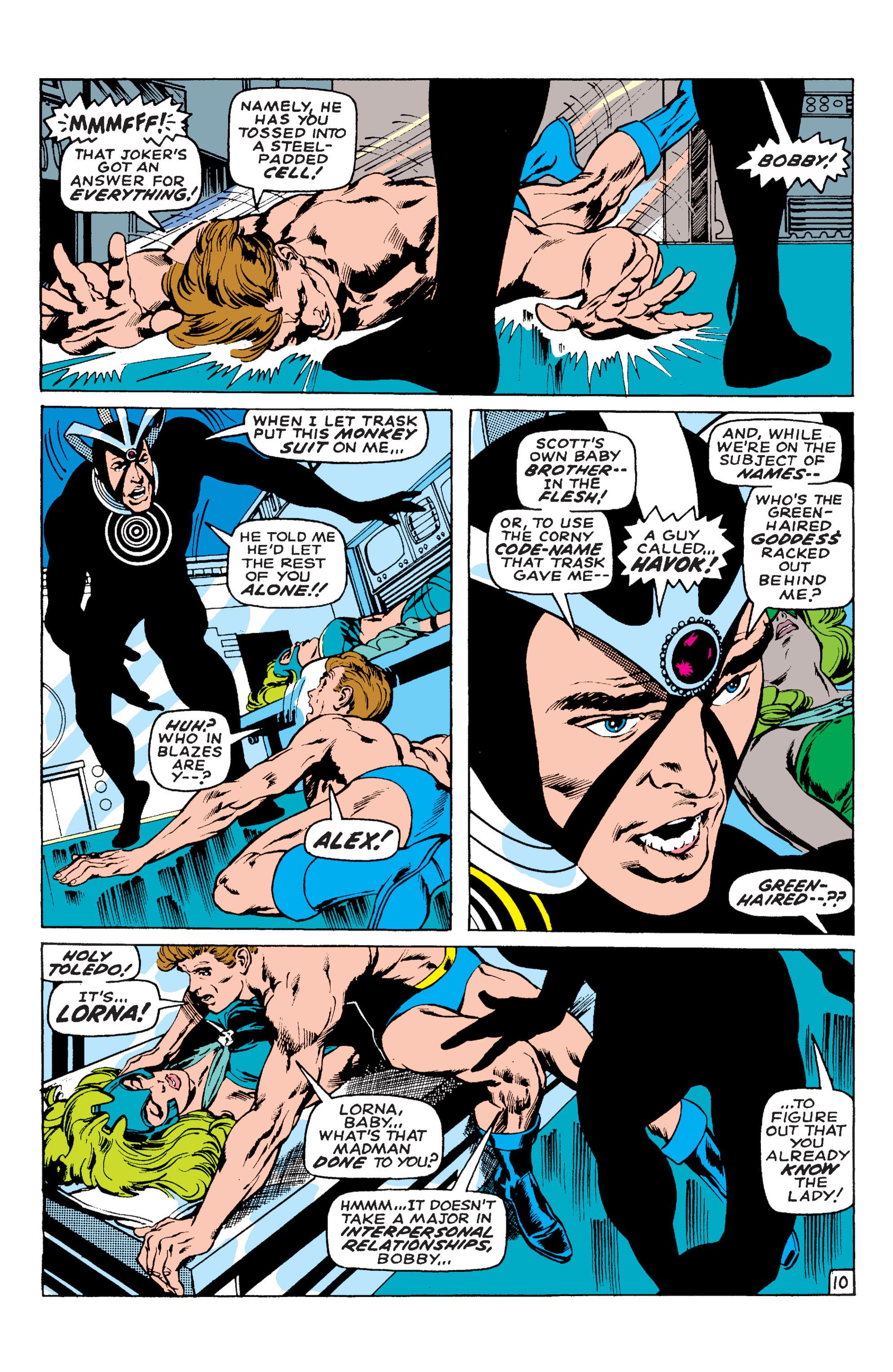 Read online Uncanny X-Men (1963) comic -  Issue #58 - 10
