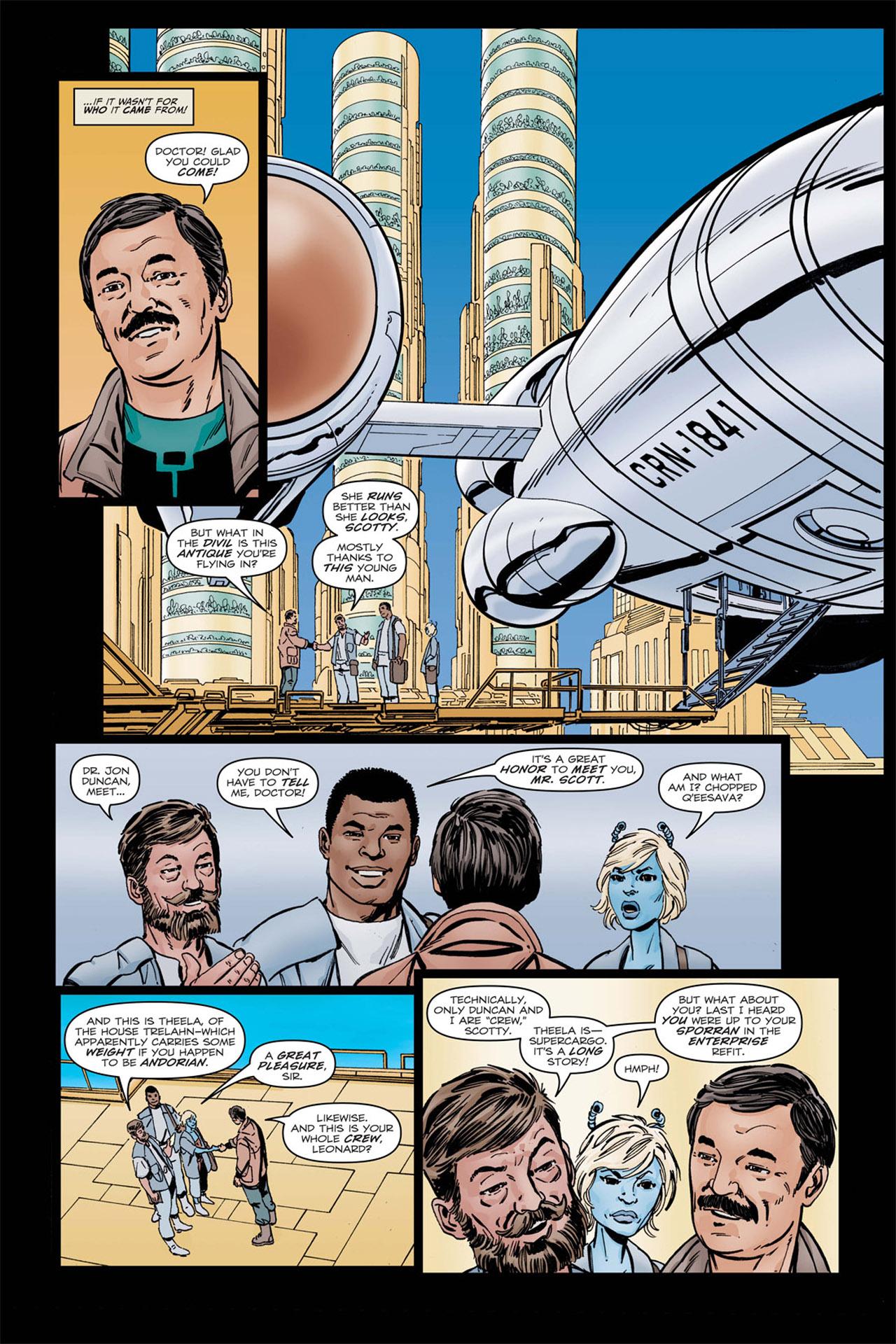 Read online Star Trek: Leonard McCoy, Frontier Doctor comic -  Issue #2 - 8