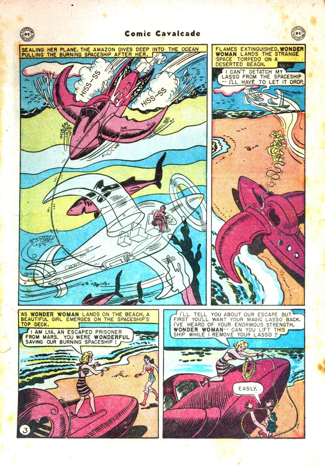 Comic Cavalcade issue 26 - Page 5