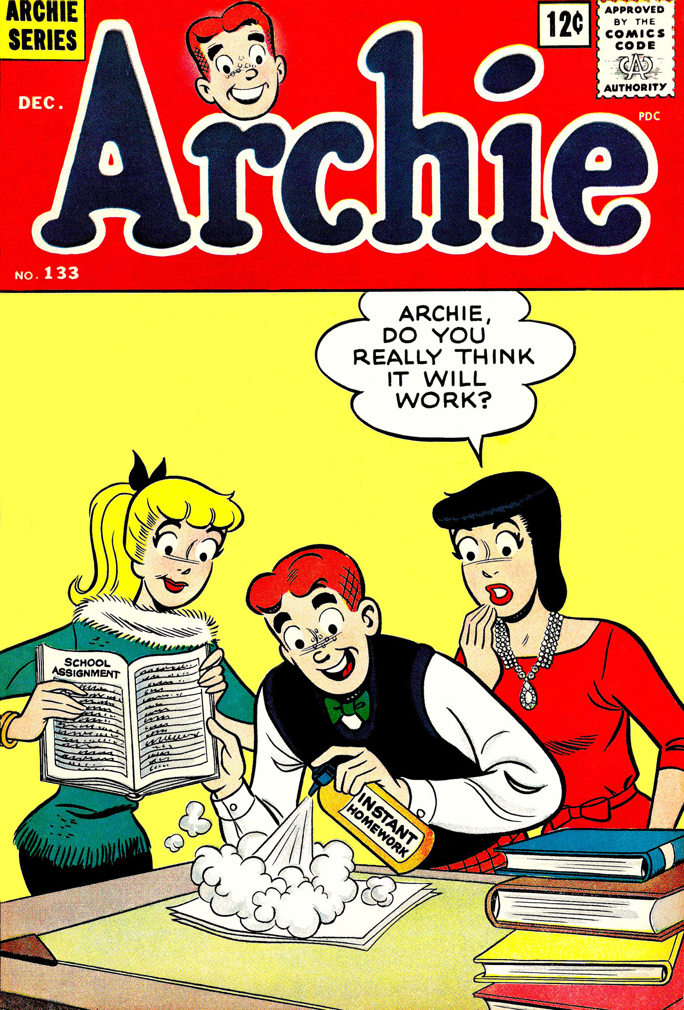 Read online Archie (1960) comic -  Issue #133 - 1