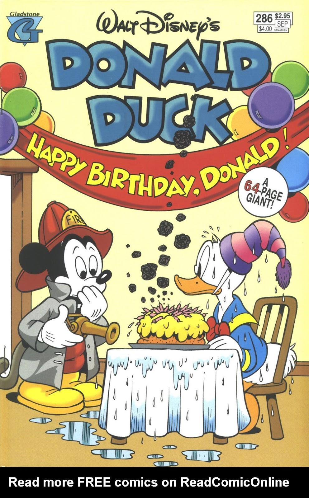 Walt Disneys Donald Duck (1986) issue 286 - Page 1