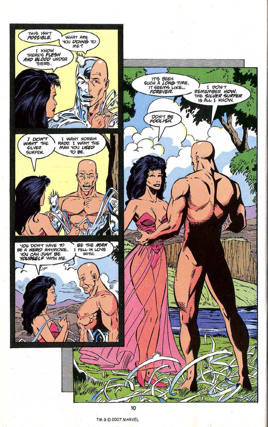 Read online Silver Surfer (1987) comic -  Issue # _Annual 4 - 12
