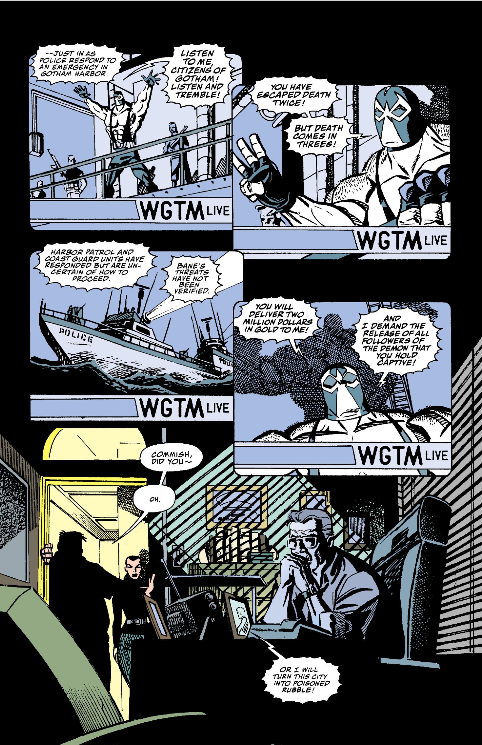 Read online Batman: Bane comic -  Issue # Full - 22