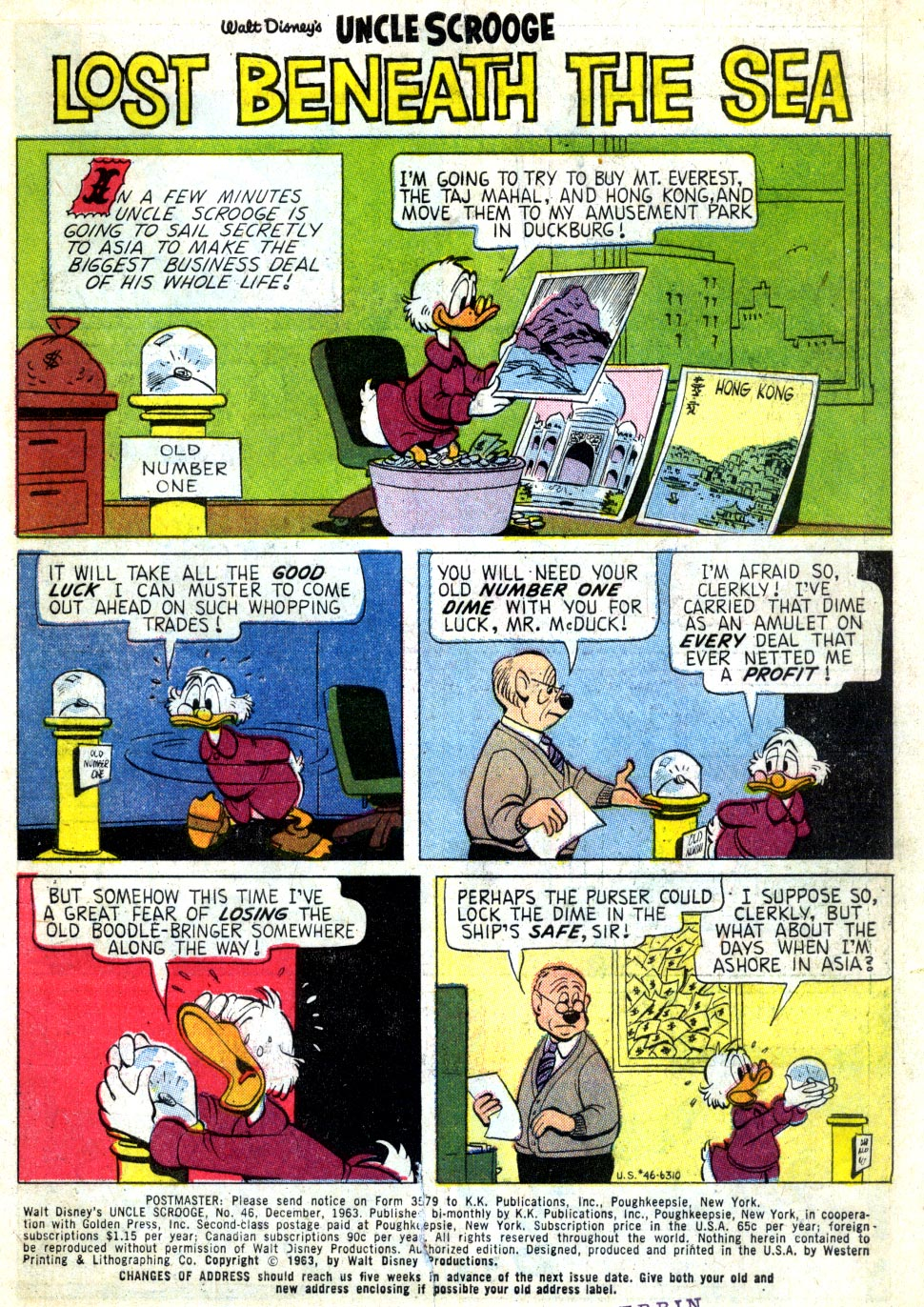 Read online Uncle Scrooge (1953) comic -  Issue #46 - 3