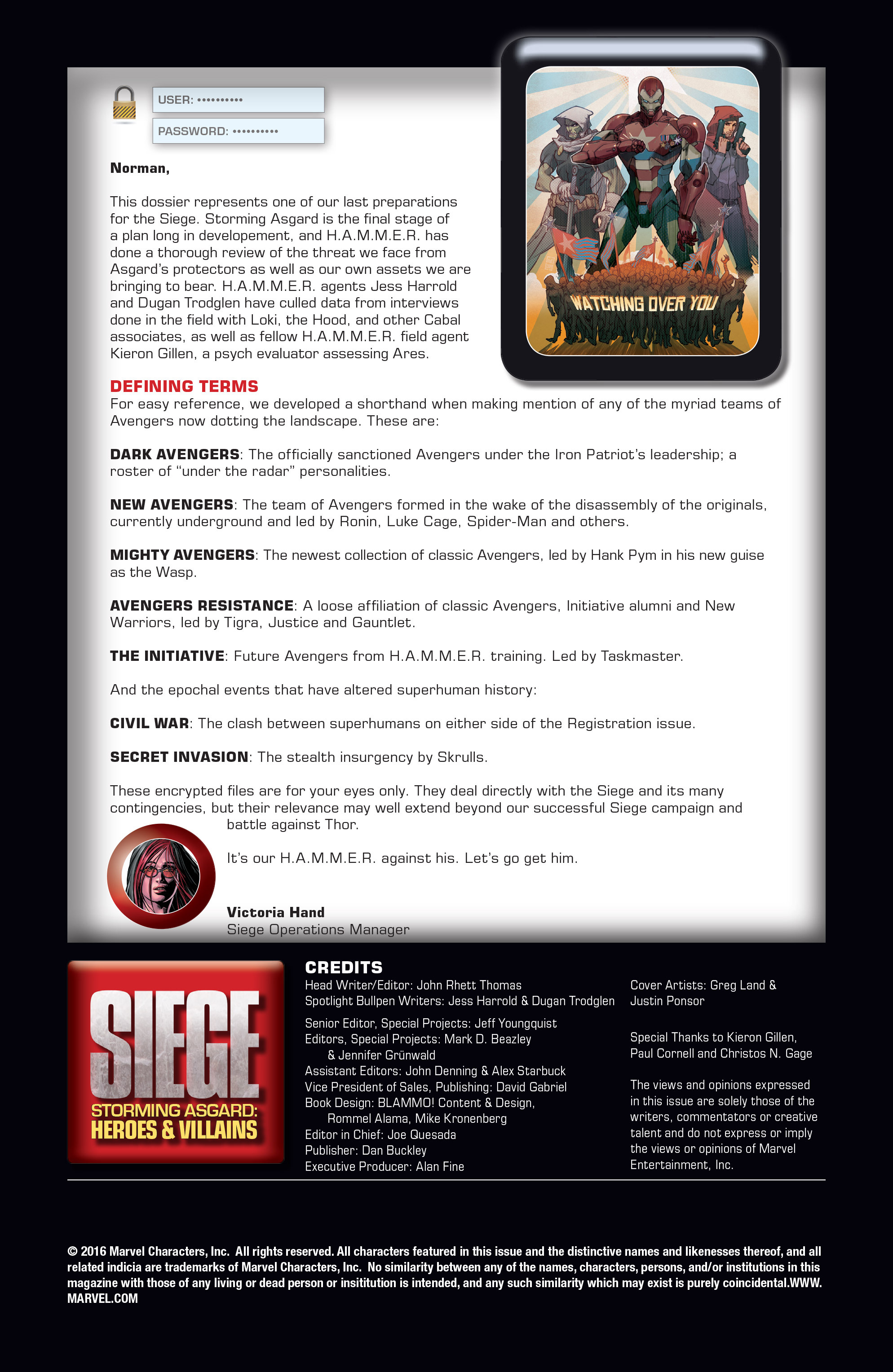 Read online Siege: Storming Asgard - Heroes and Villains comic -  Issue # Full - 2
