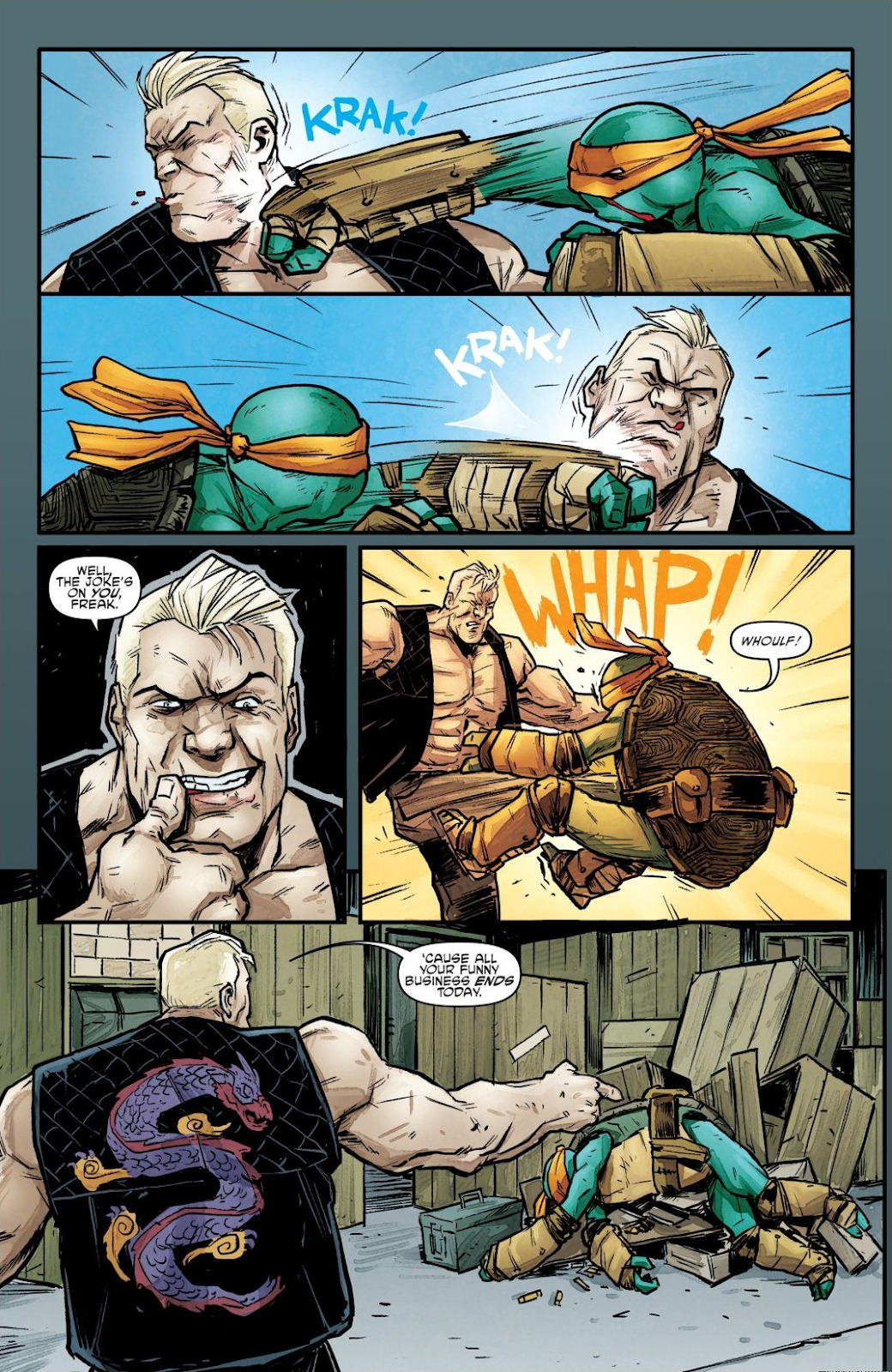 Read online Teenage Mutant Ninja Turtles: The IDW Collection comic -  Issue # TPB 7 (Part 1) - 86