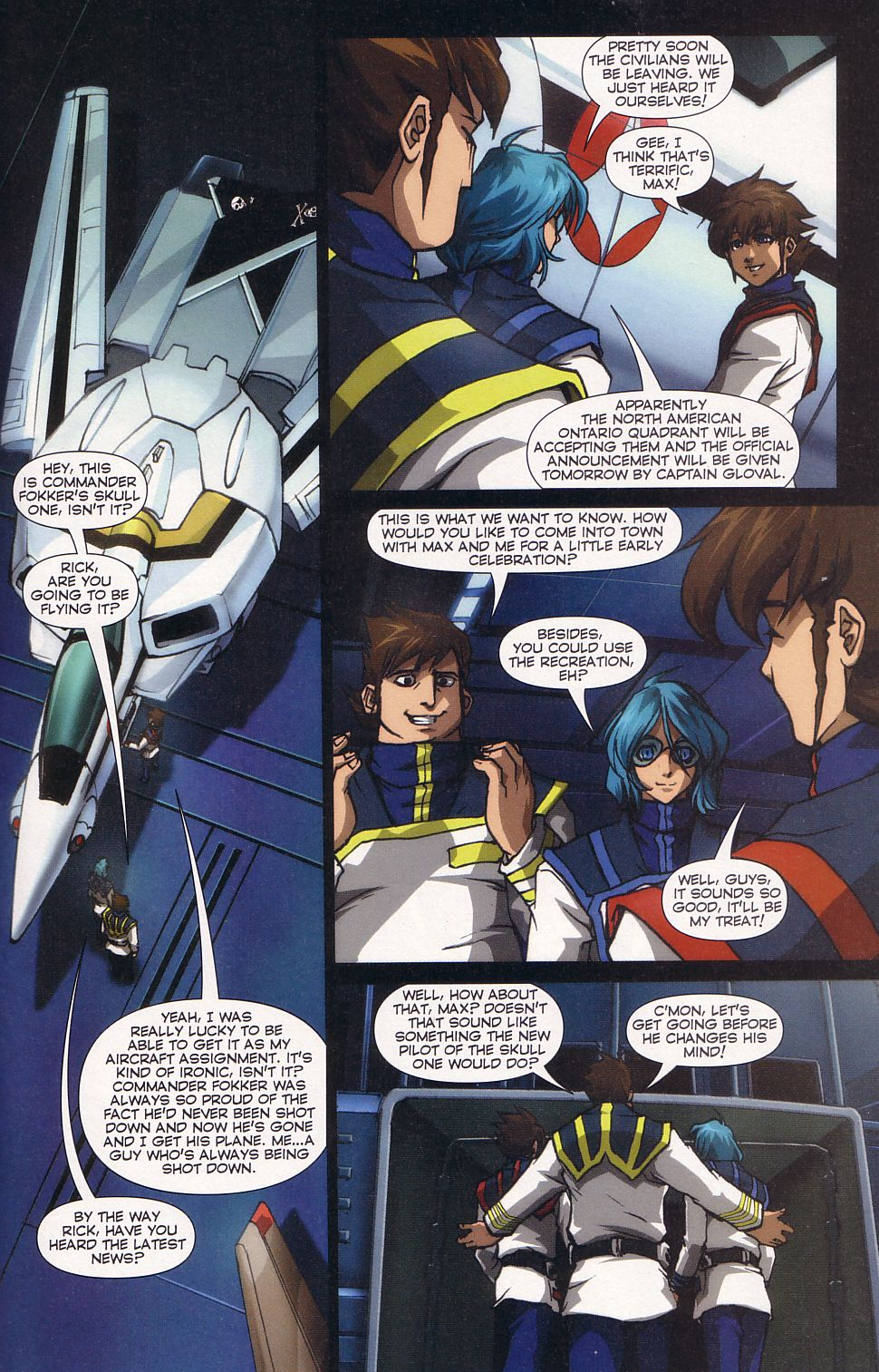 Read online Robotech: Love and War comic -  Issue #5 - 3