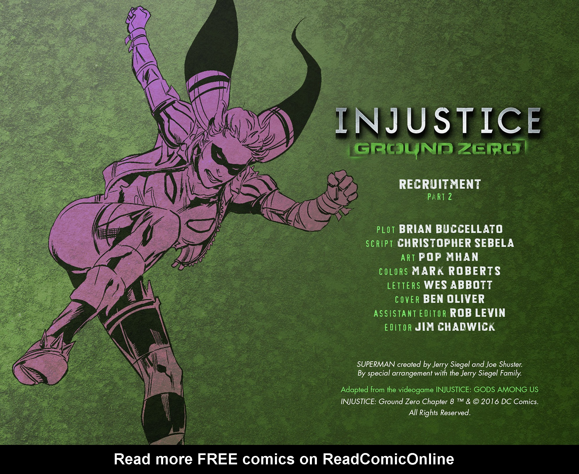 Read online Injustice: Ground Zero comic -  Issue #8 - 3