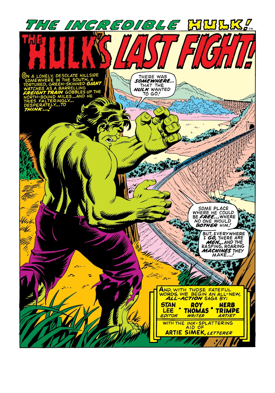 Read online Marvel Masterworks: The Incredible Hulk comic -  Issue # TPB 6 (Part 1) - 10