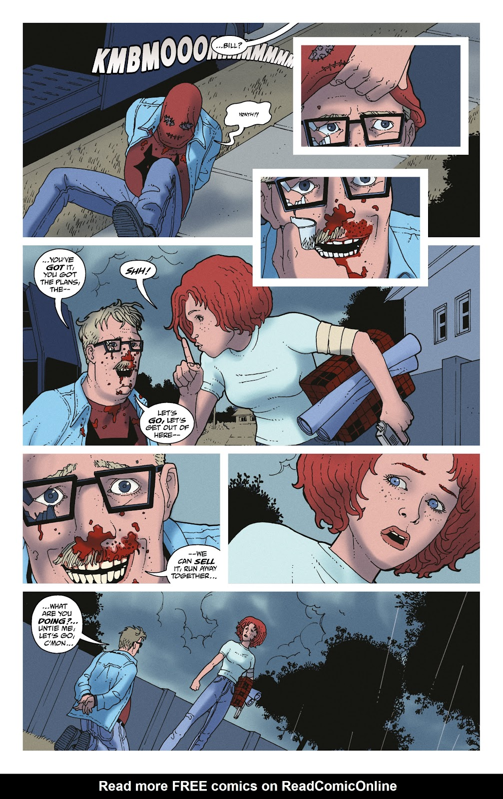 Read online She Could Fly comic -  Issue # _TPB - 134