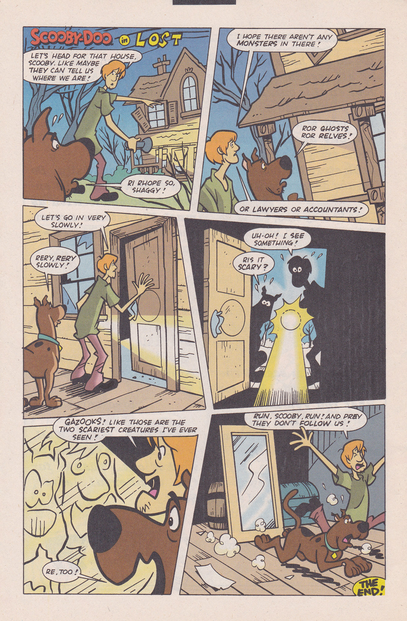 Read online Scooby-Doo (1995) comic -  Issue #20 - 24