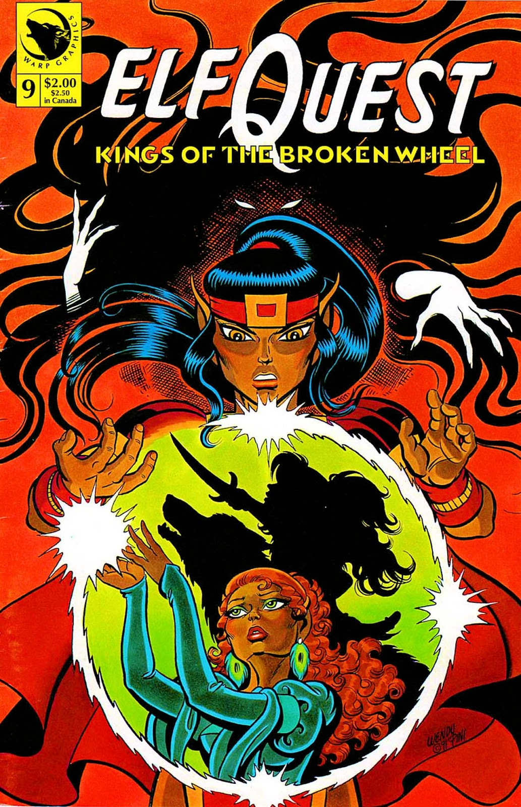 ElfQuest: Kings of the Broken Wheel 9 Page 1