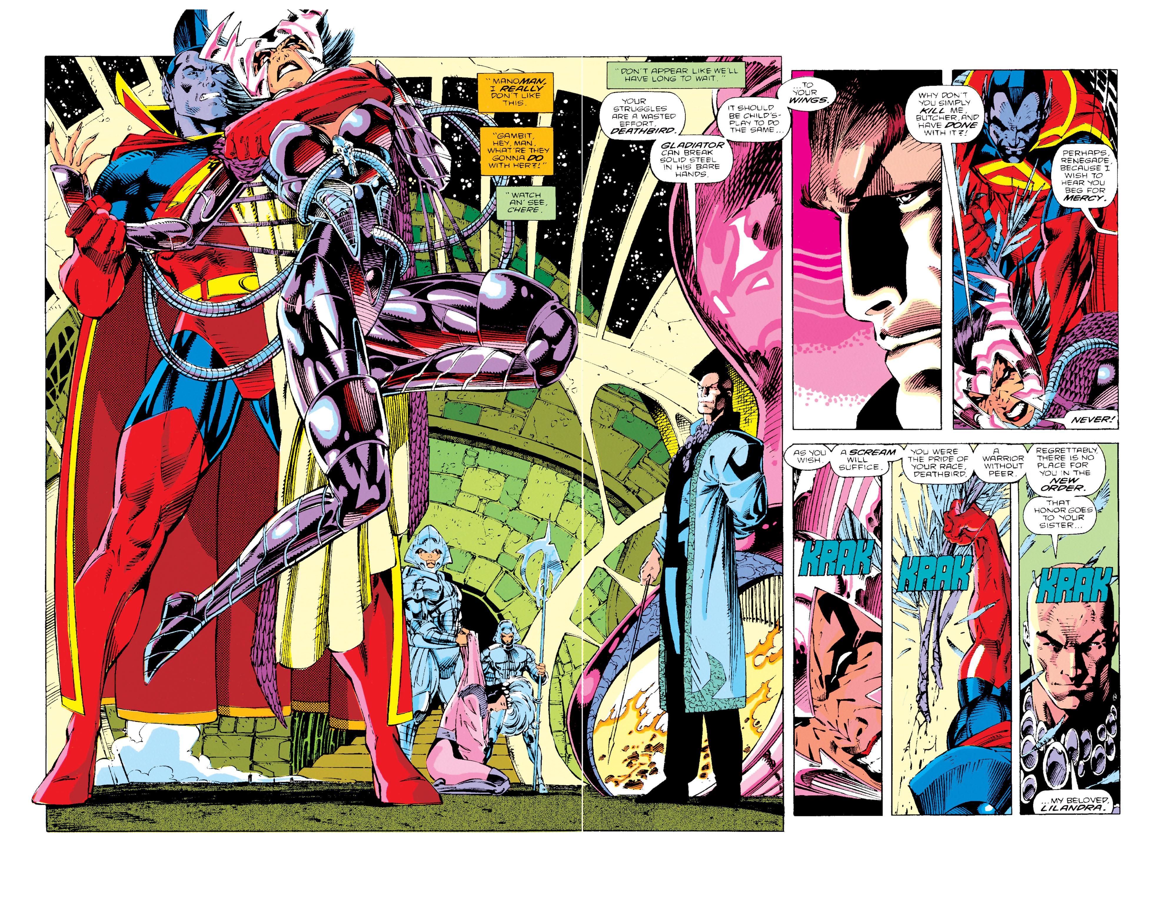 Read online Uncanny X-Men (1963) comic -  Issue #276 - 3