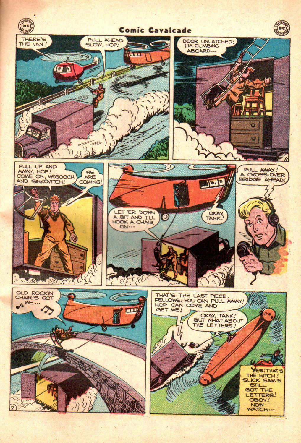 Comic Cavalcade issue 21 - Page 49
