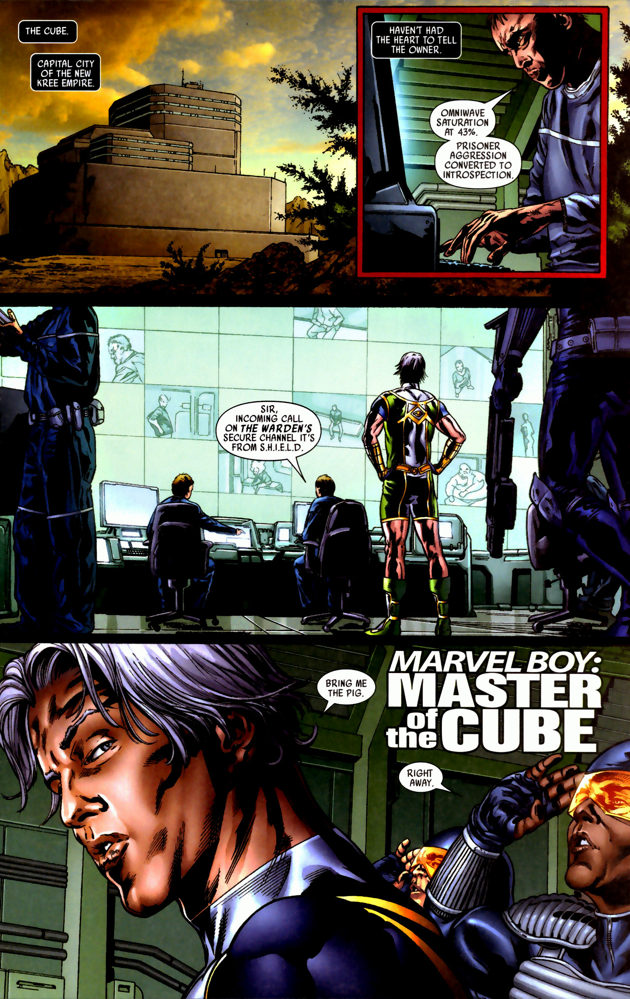 Read online Secret Invasion: Who Do You Trust? comic -  Issue # Full - 29