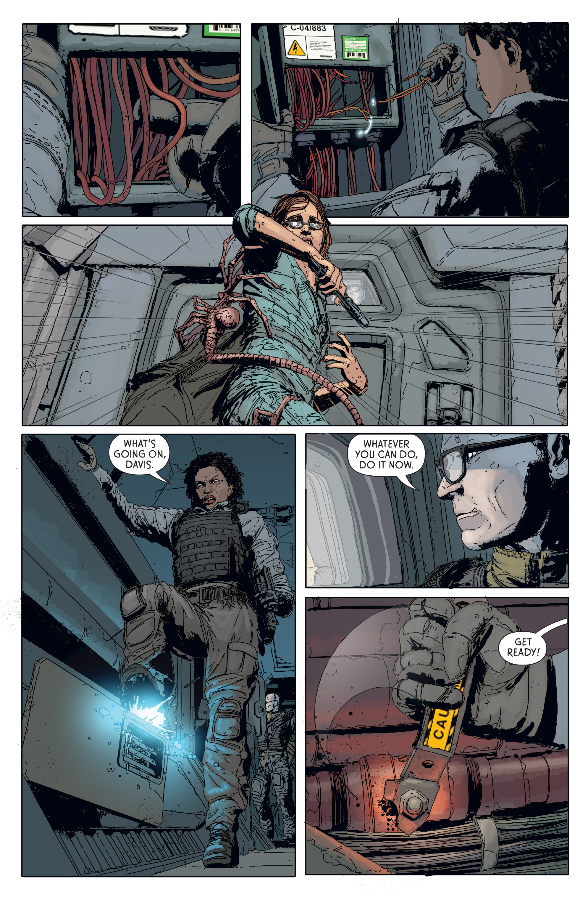 Read online Aliens: Defiance comic -  Issue #6 - 14