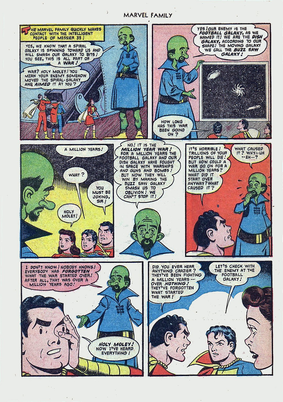 The Marvel Family issue 61 - Page 8