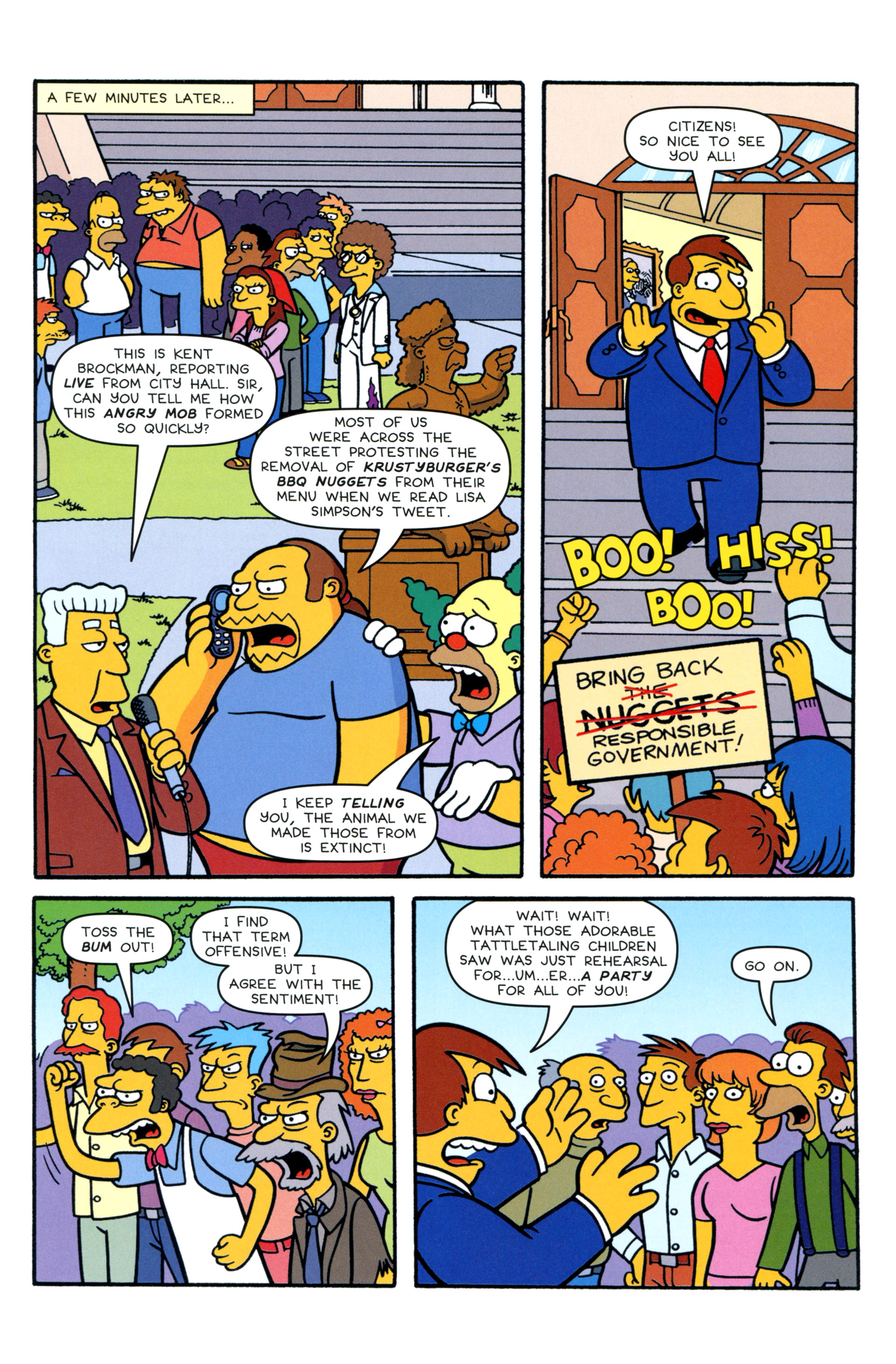 Read online Simpsons Comics comic -  Issue #200 - 7