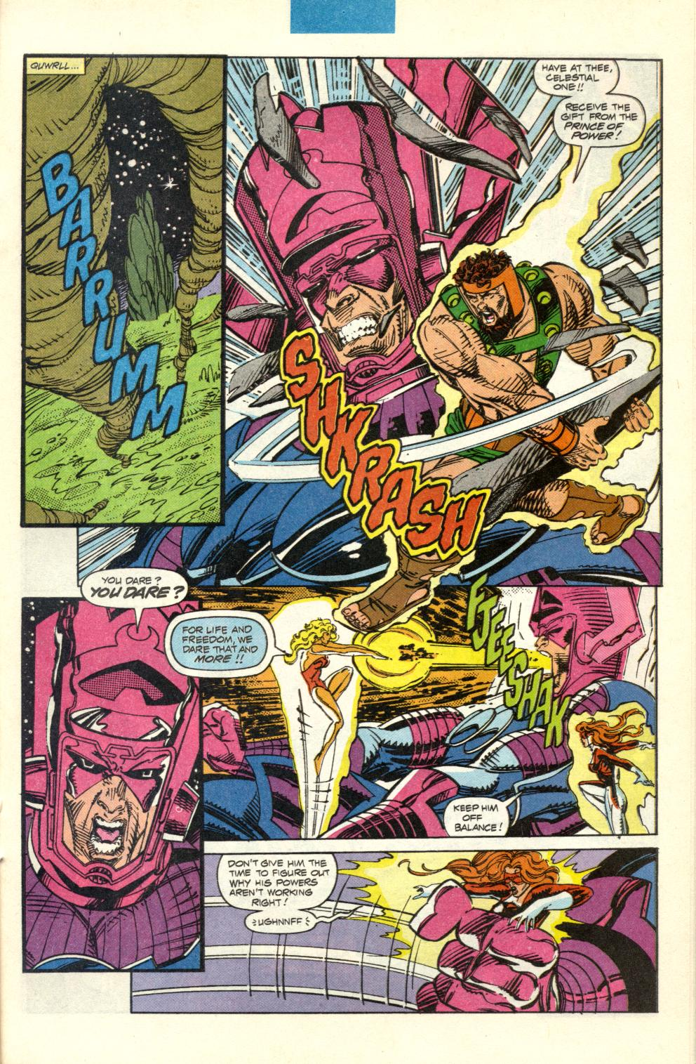 Read online Alpha Flight (1983) comic -  Issue #100 - 26