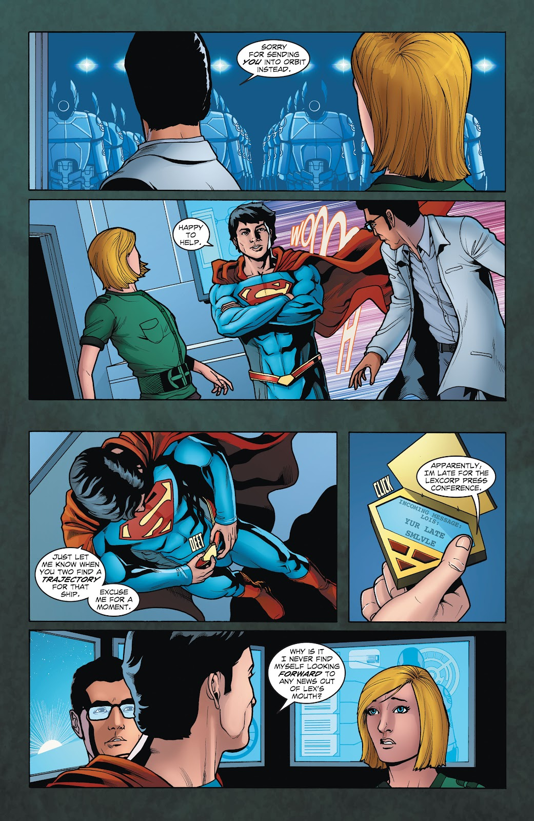 Read online Smallville Season 11 [II] comic -  Issue # TPB 1 - 44