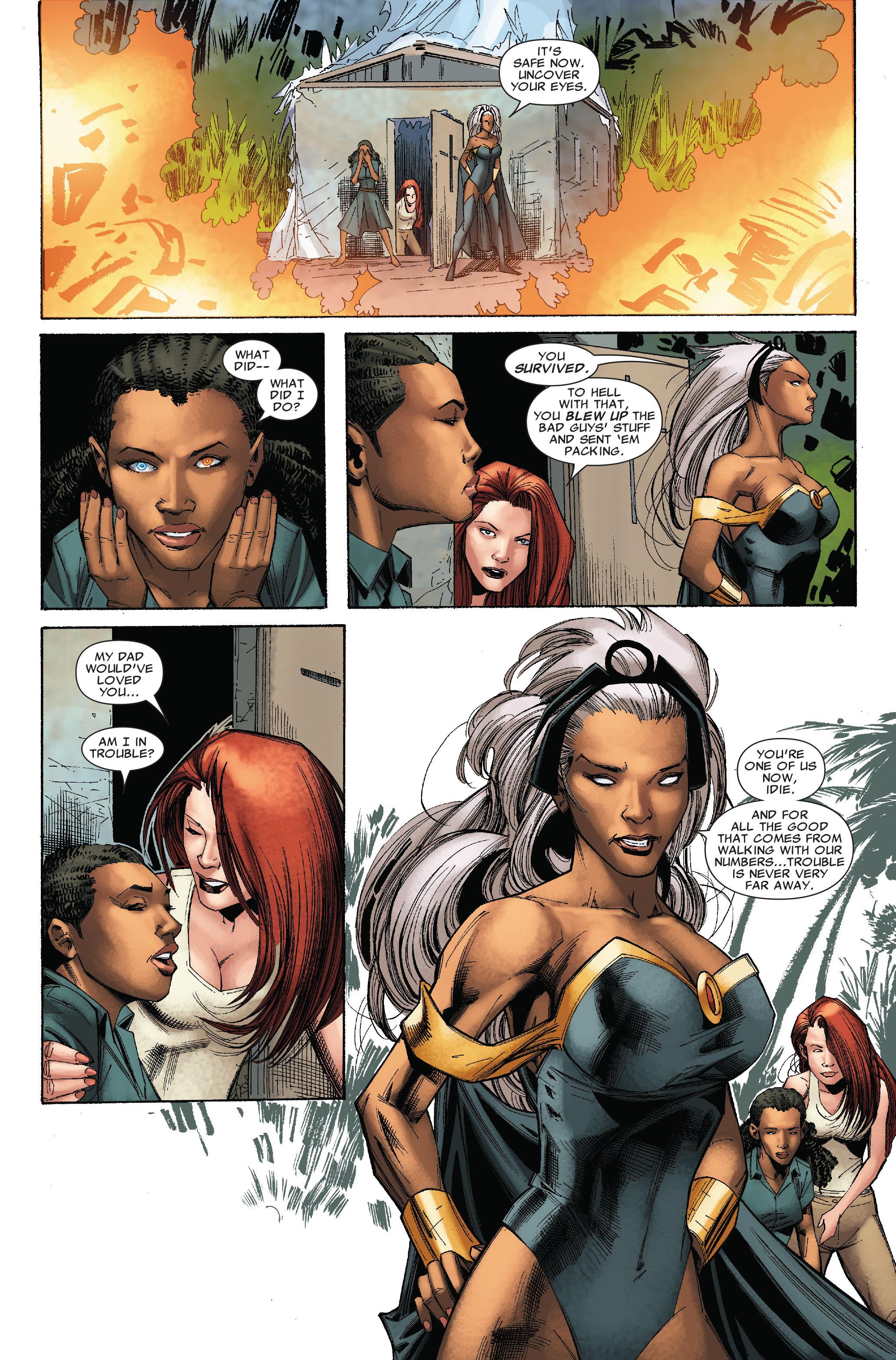 Read online Uncanny X-Men (1963) comic -  Issue #528 - 23