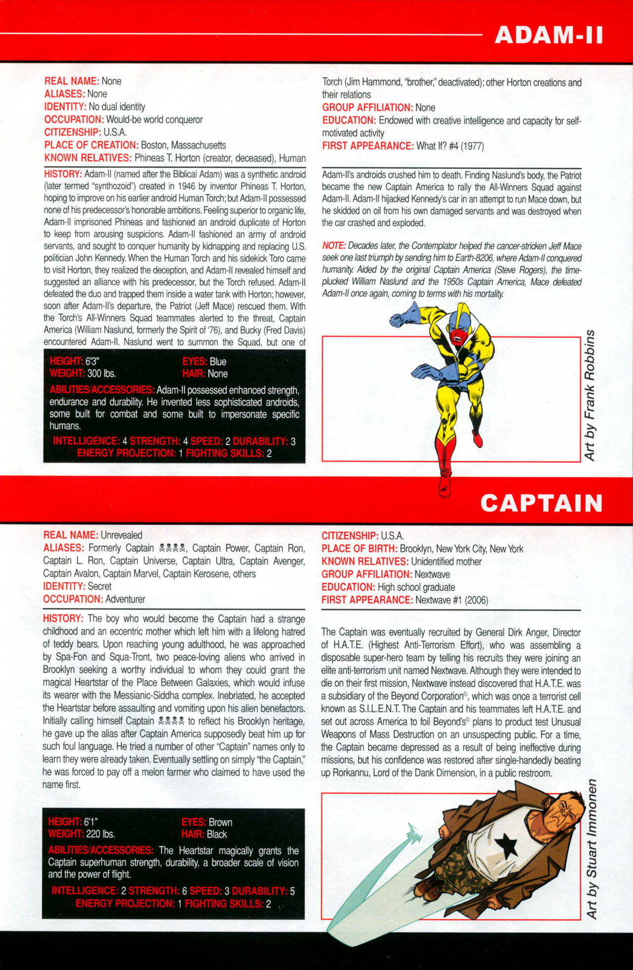 Read online All-New Official Handbook of the Marvel Universe A to Z: Update comic -  Issue #2 - 63
