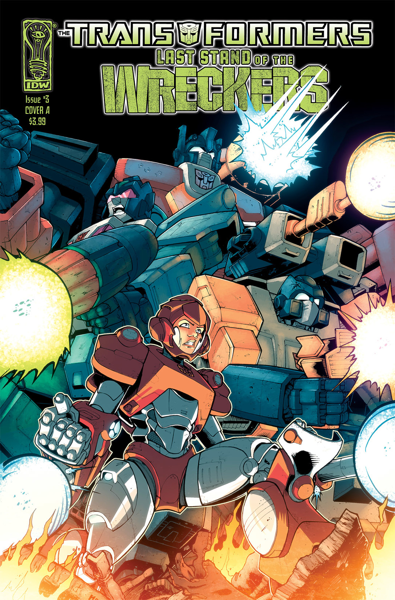 Read online Transformers: Last Stand of The Wreckers comic -  Issue #3 - 1