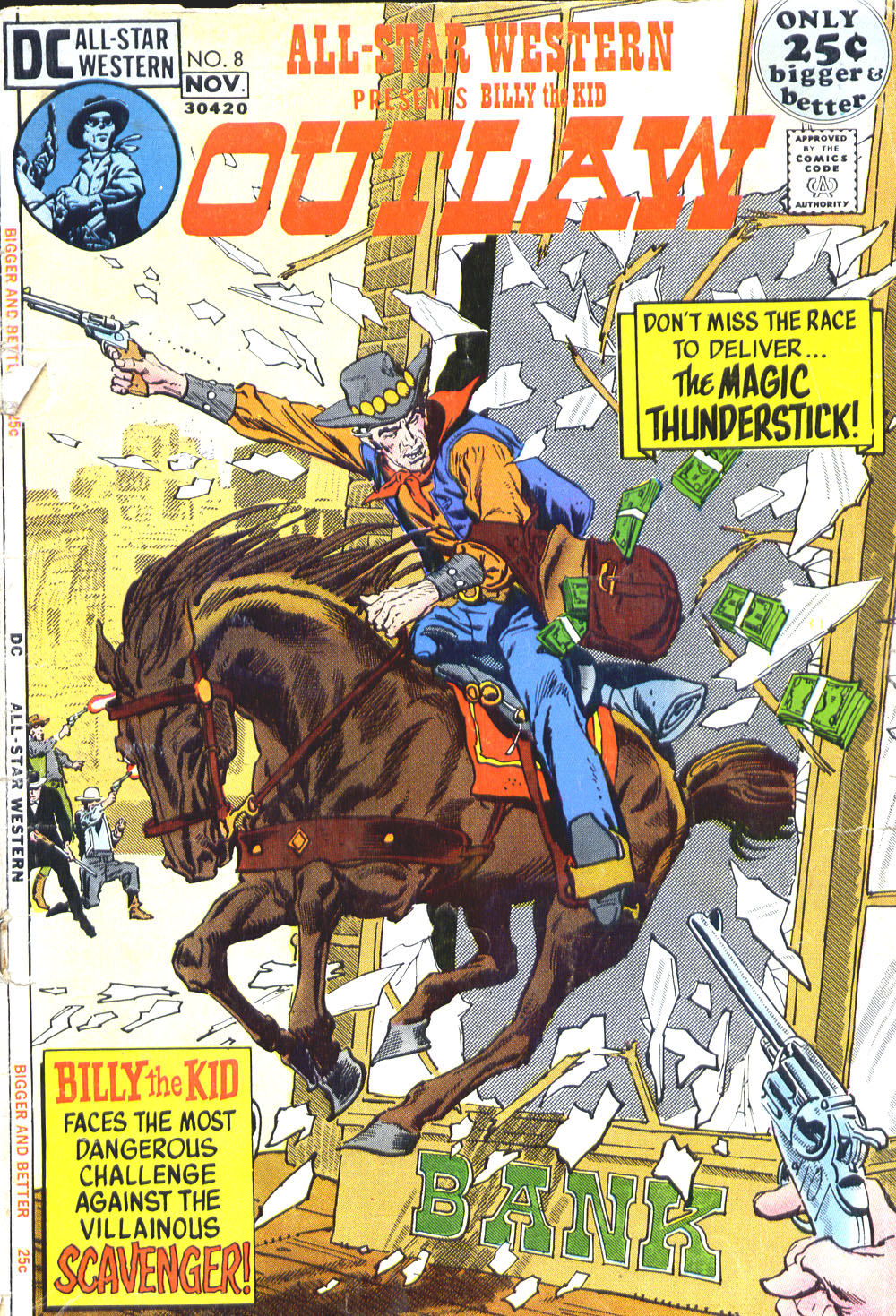Read online All-Star Western (1970) comic -  Issue #8 - 1