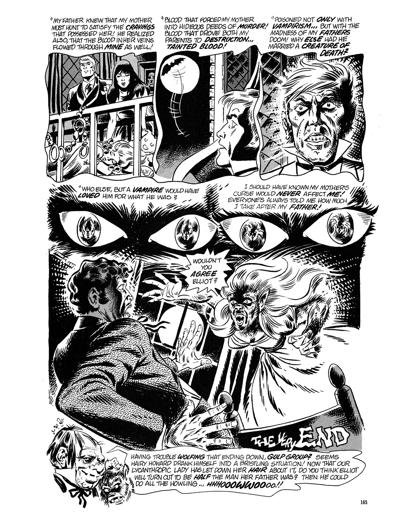 Read online Eerie Archives comic -  Issue # TPB 5 - 166
