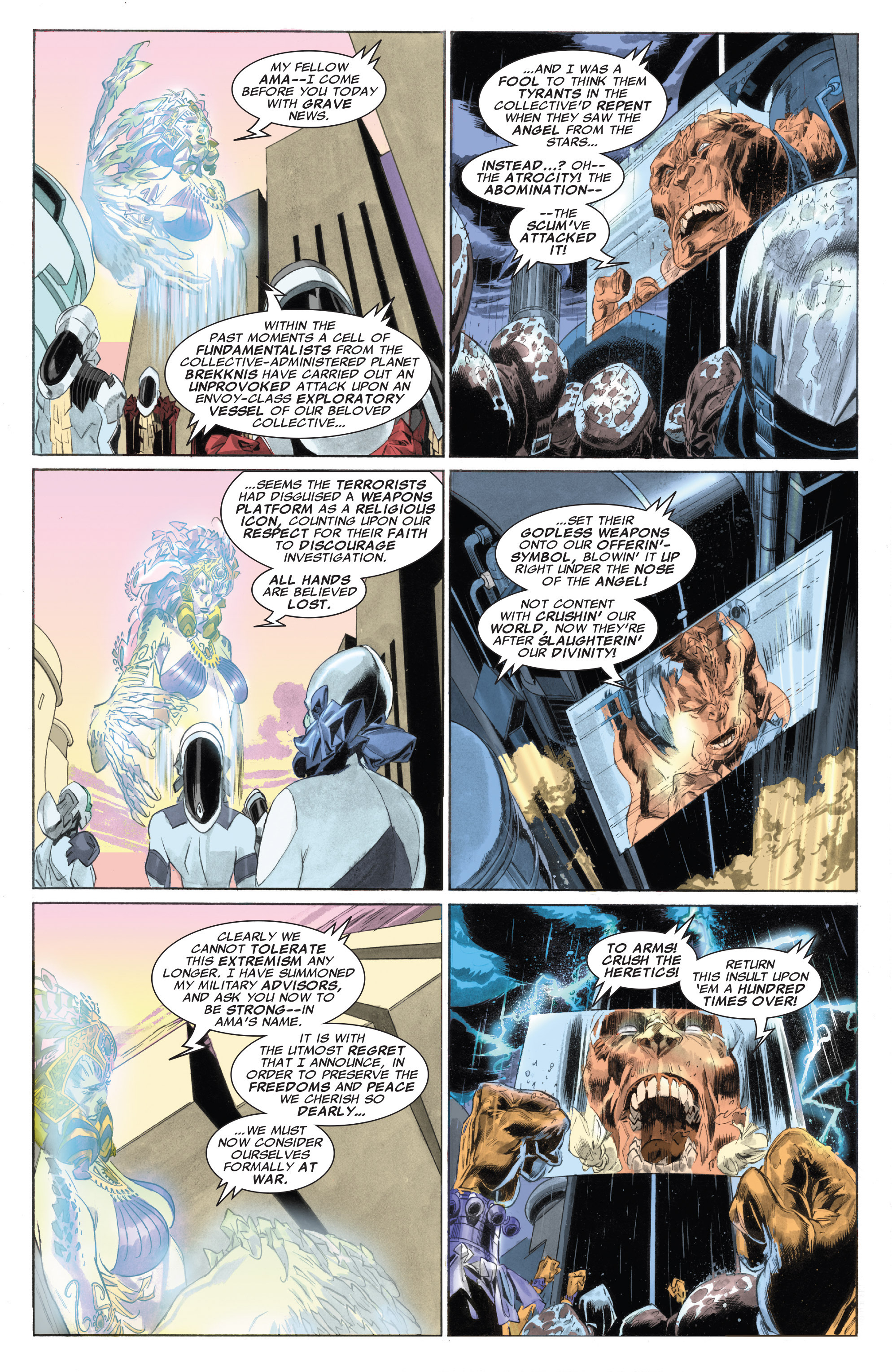 Read online Silver Surfer: In Thy Name comic -  Issue #4 - 13