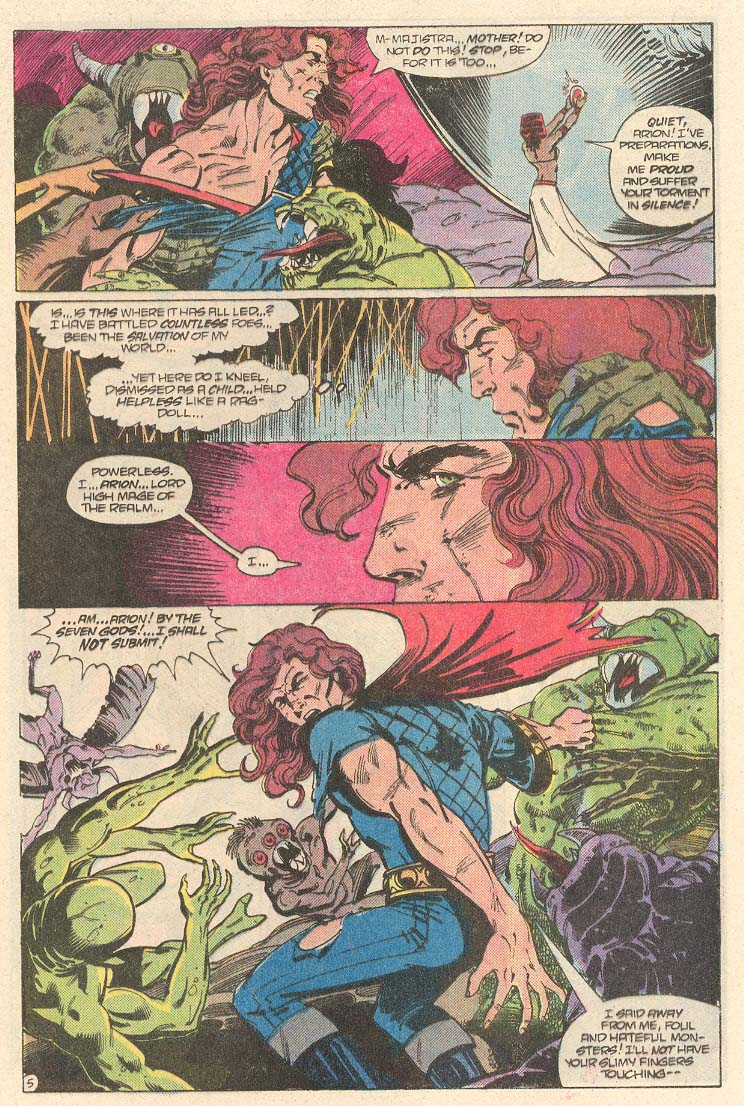 Read online Arion, Lord of Atlantis comic -  Issue #33 - 6