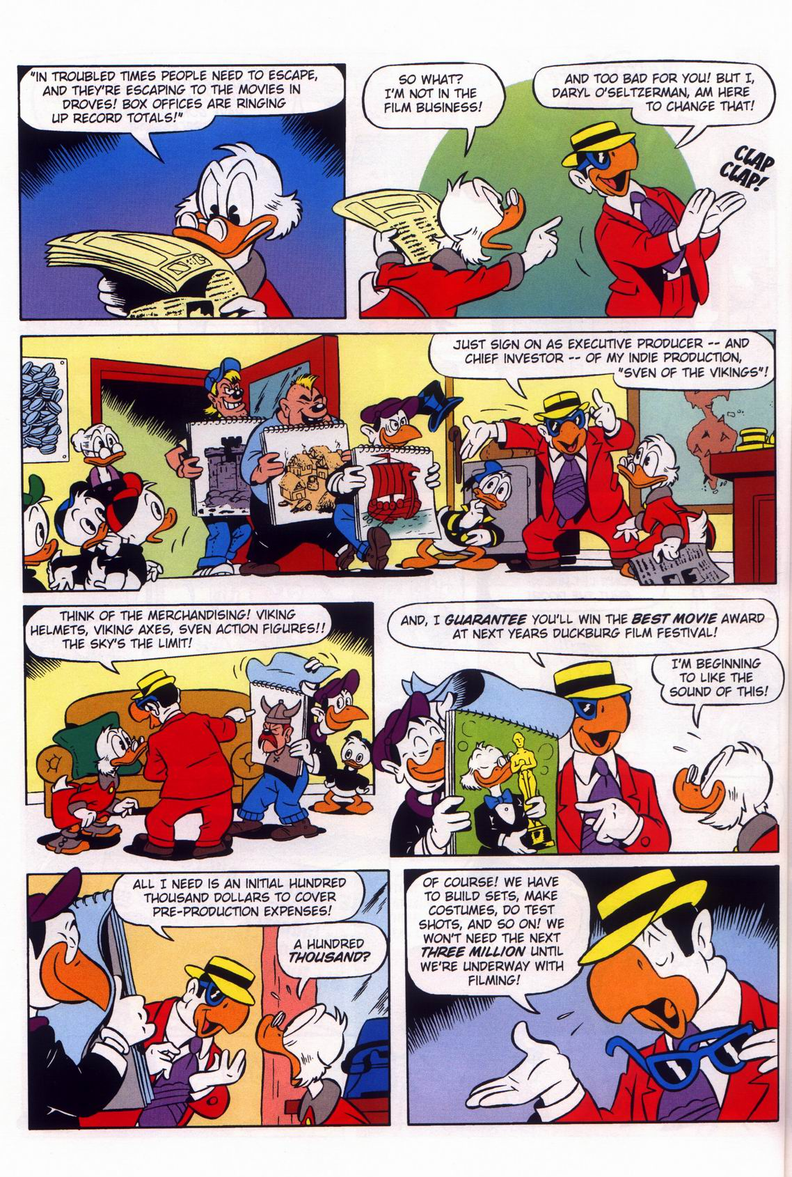Read online Uncle Scrooge (1953) comic -  Issue #316 - 36