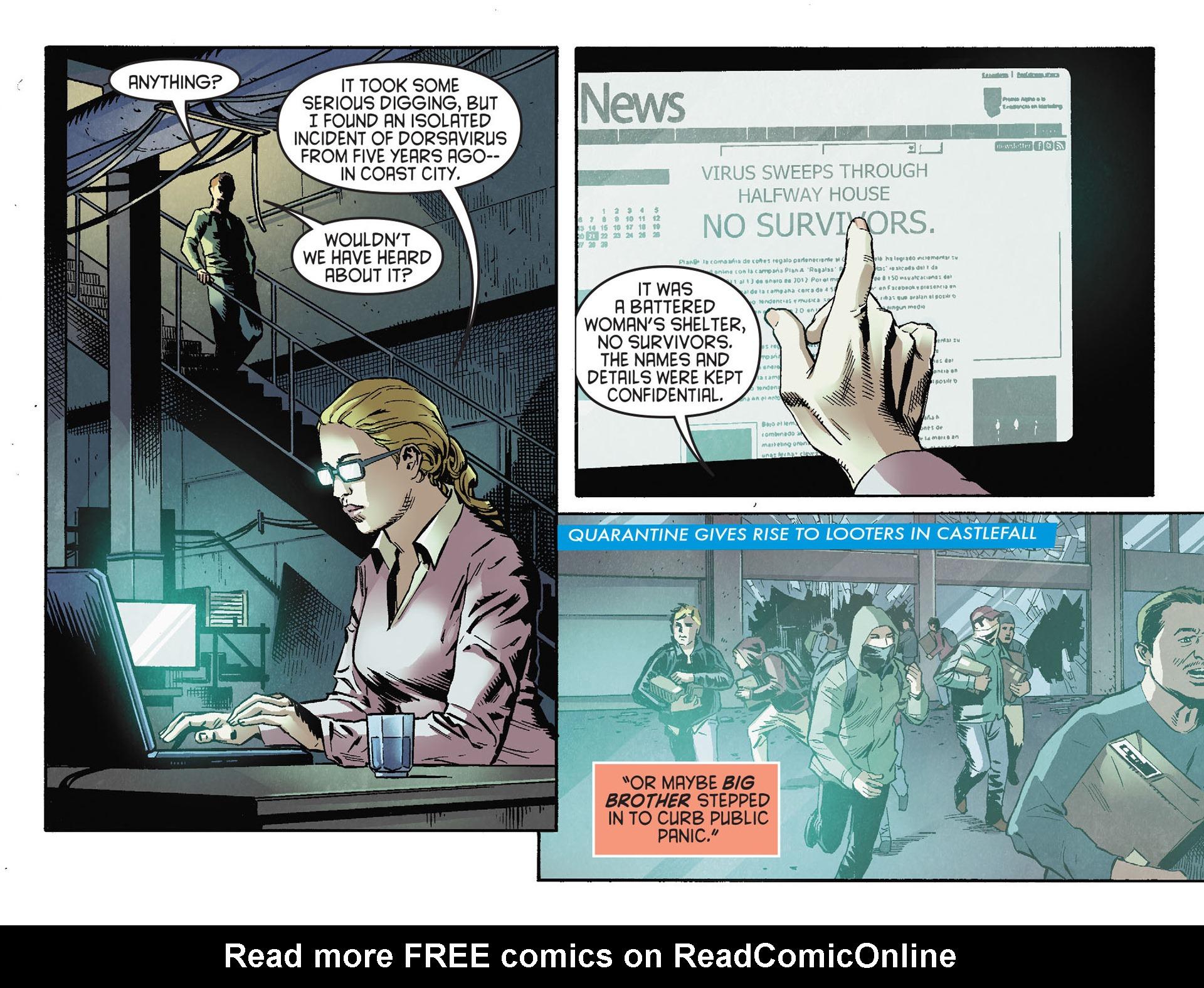 Read online Arrow [II] comic -  Issue #30 - 11