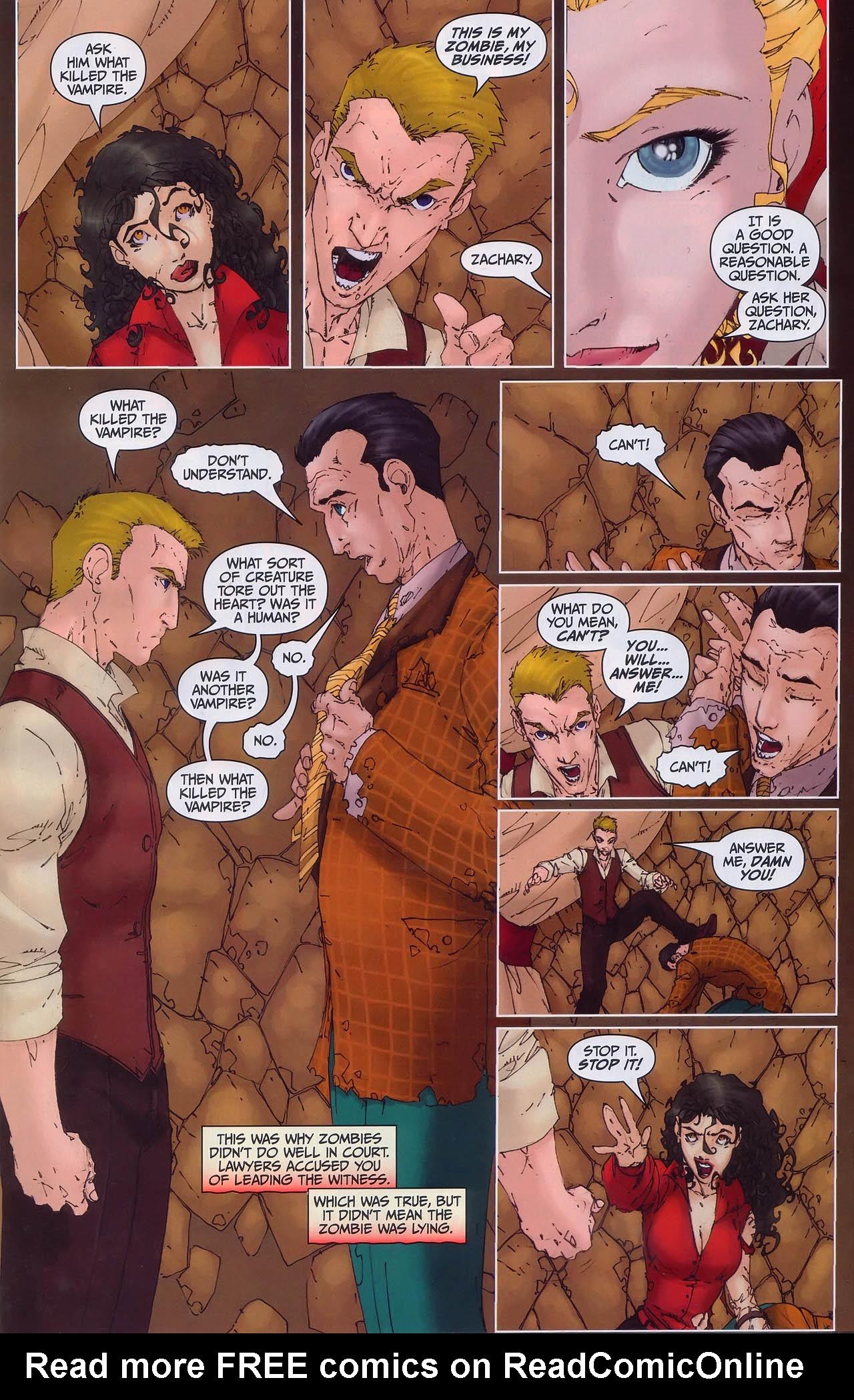 Read online Anita Blake, Vampire Hunter: Guilty Pleasures comic -  Issue #3 - 16