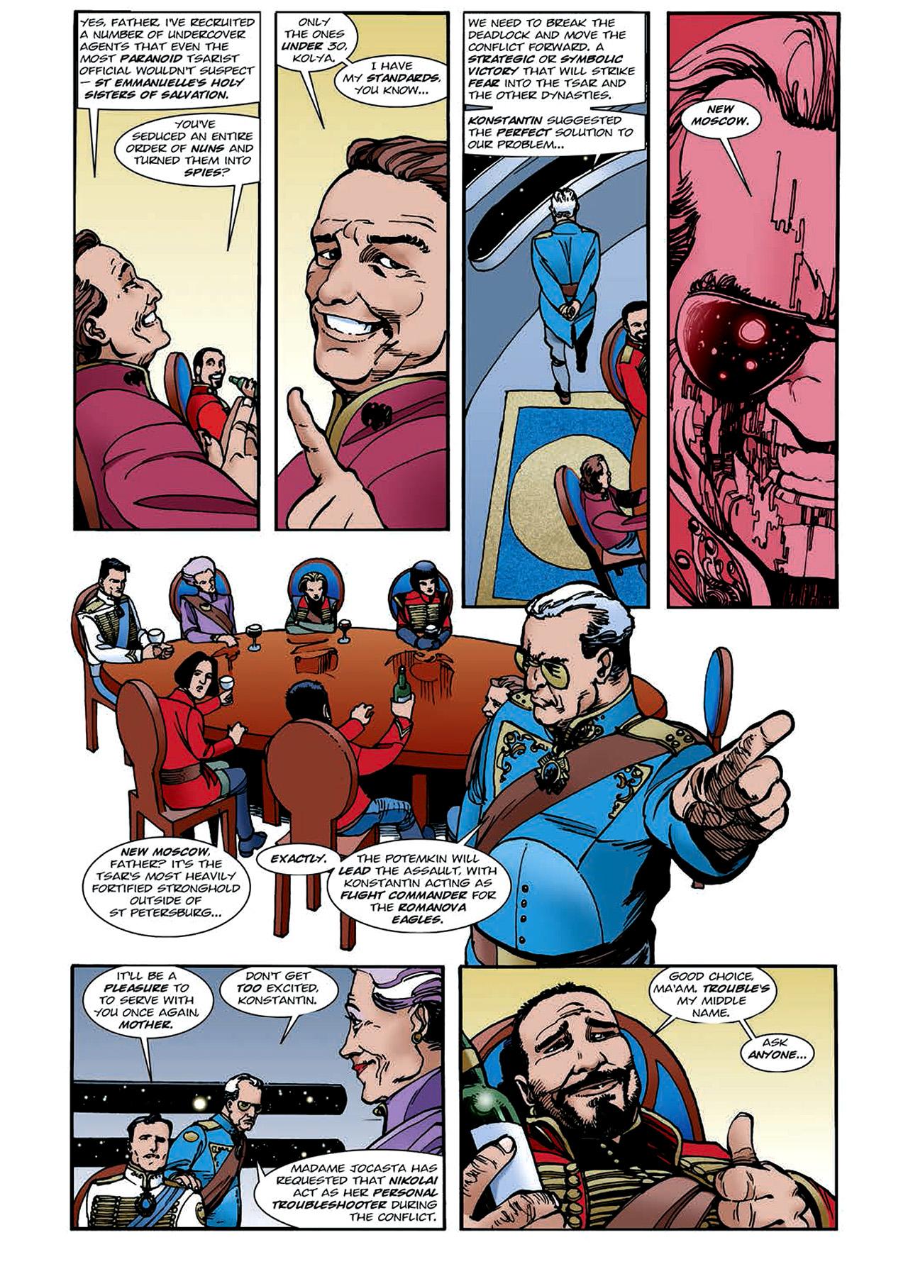 Read online Nikolai Dante comic -  Issue # TPB 4 - 110