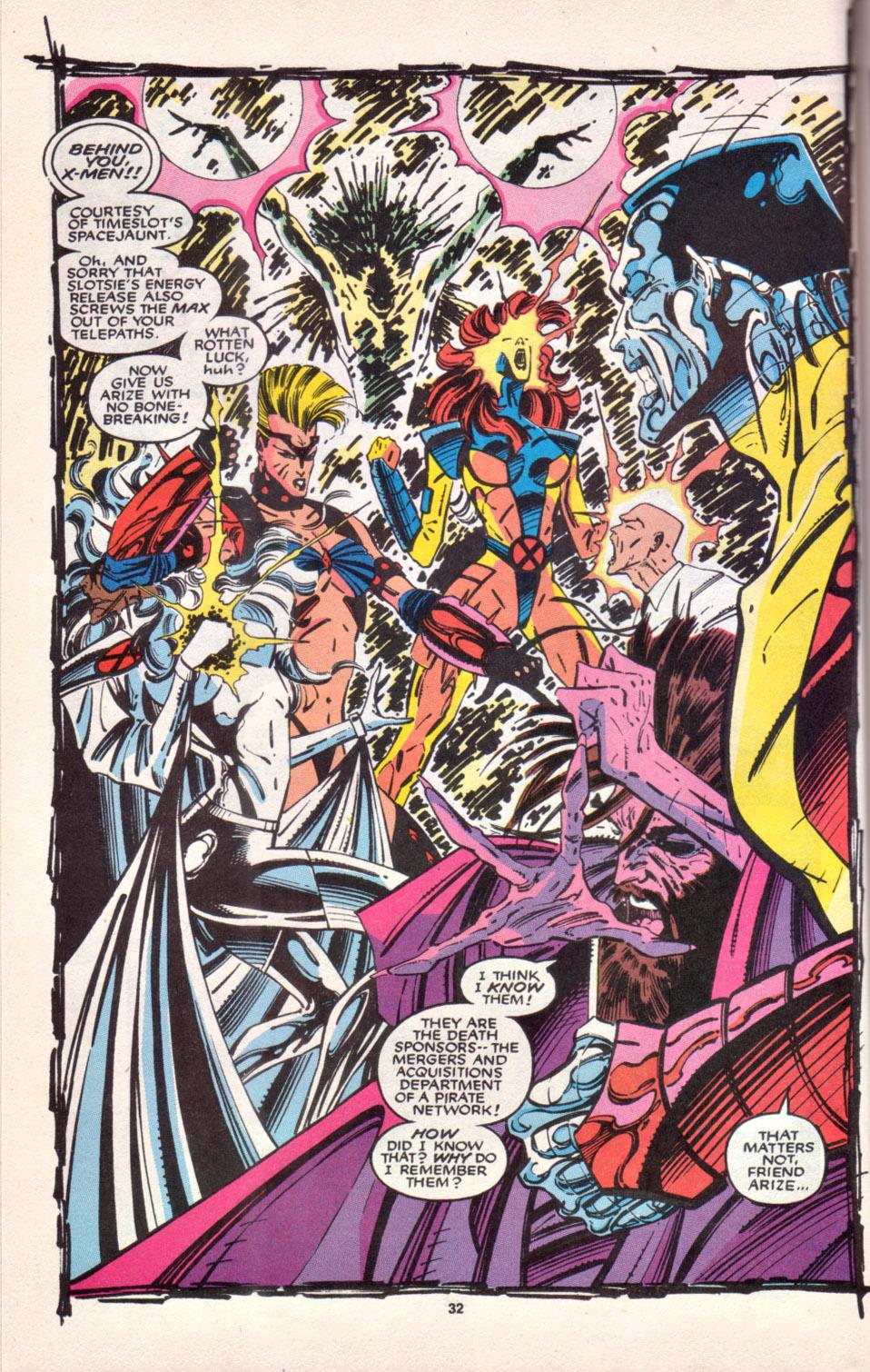 Read online Uncanny X-Men (1963) comic -  Issue # _Annual 16 - 26