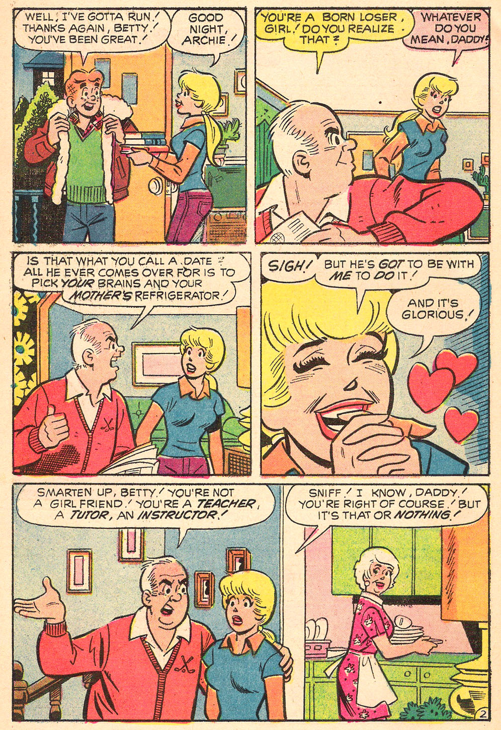 Read online Archie's Girls Betty and Veronica comic -  Issue #208 - 30