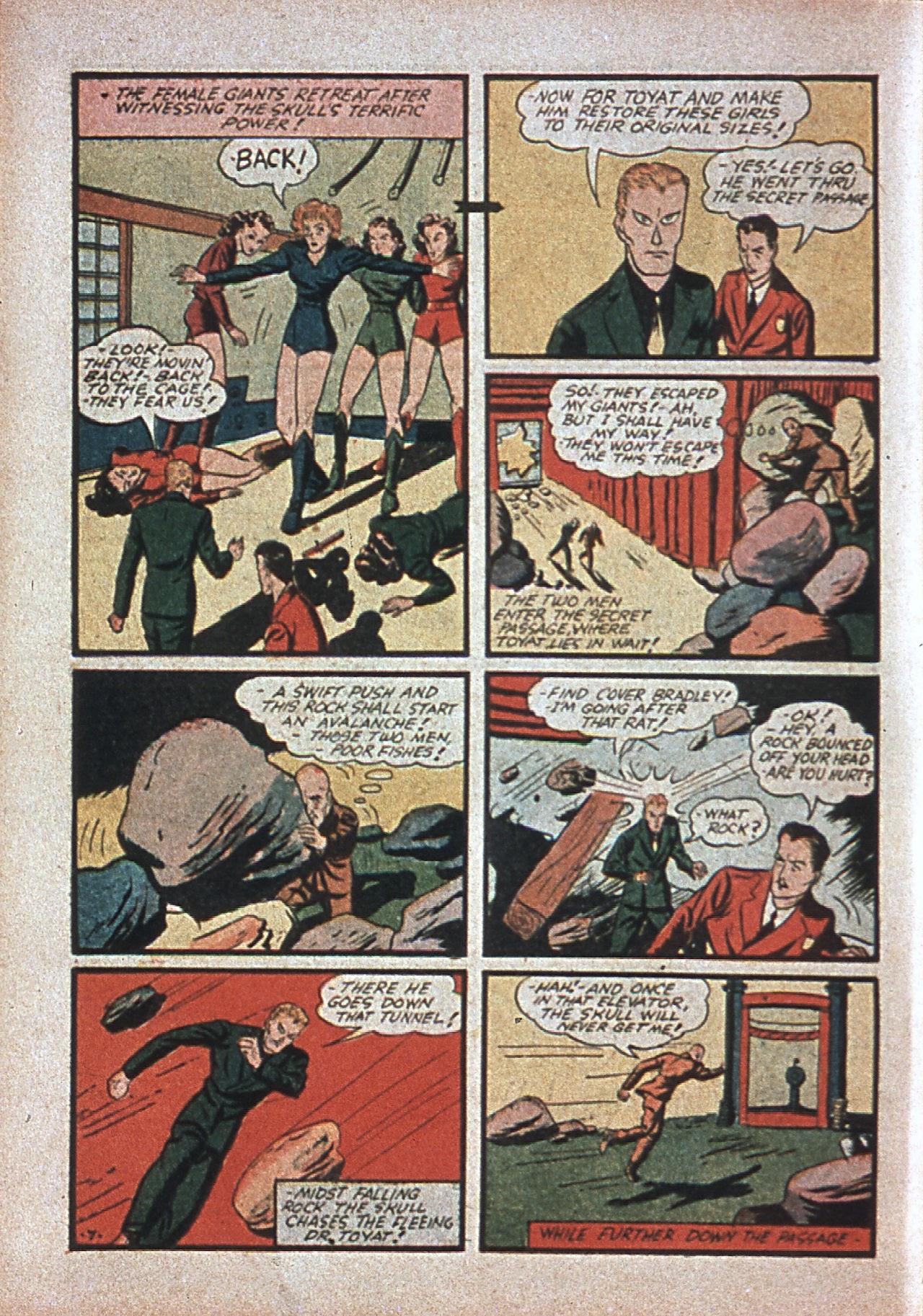 Read online Amazing Man Comics comic -  Issue #7 - 27