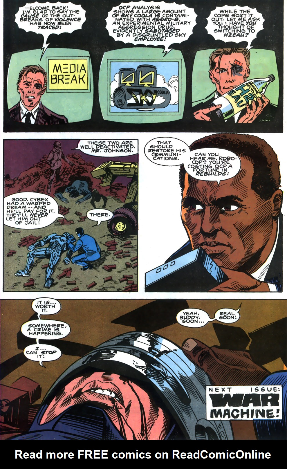 Read online Robocop (1990) comic -  Issue #4 - 23