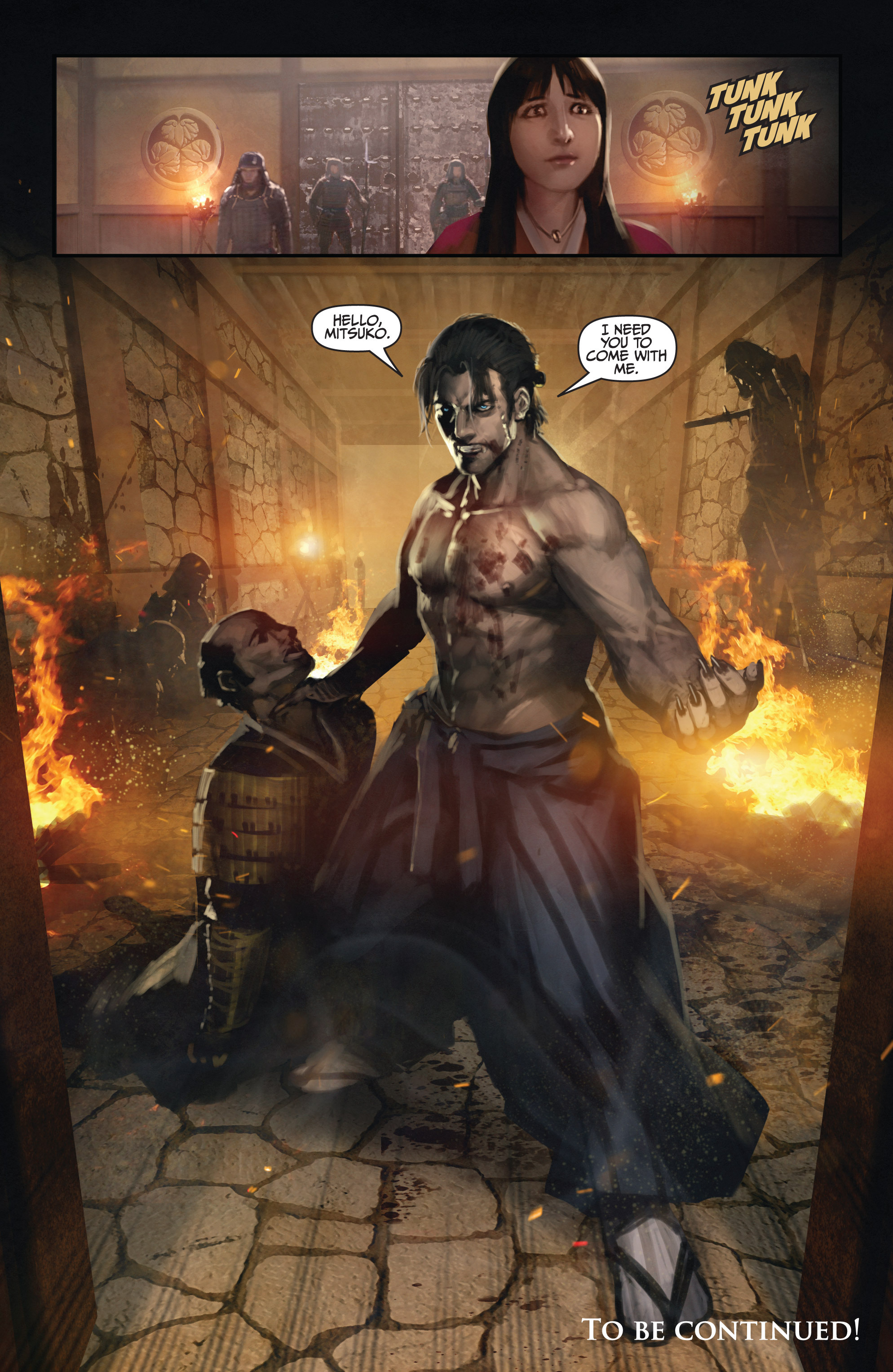 Read online Bushido: The Way of the Warrior comic -  Issue #3 - 22