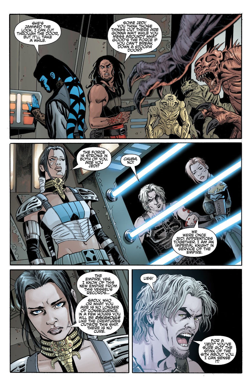 Read online Star Wars Legends: Legacy - Epic Collection comic -  Issue # TPB 2 (Part 3) - 13