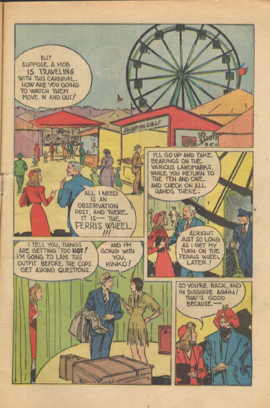 Read online Super-Magician Comics comic -  Issue #37 - 8