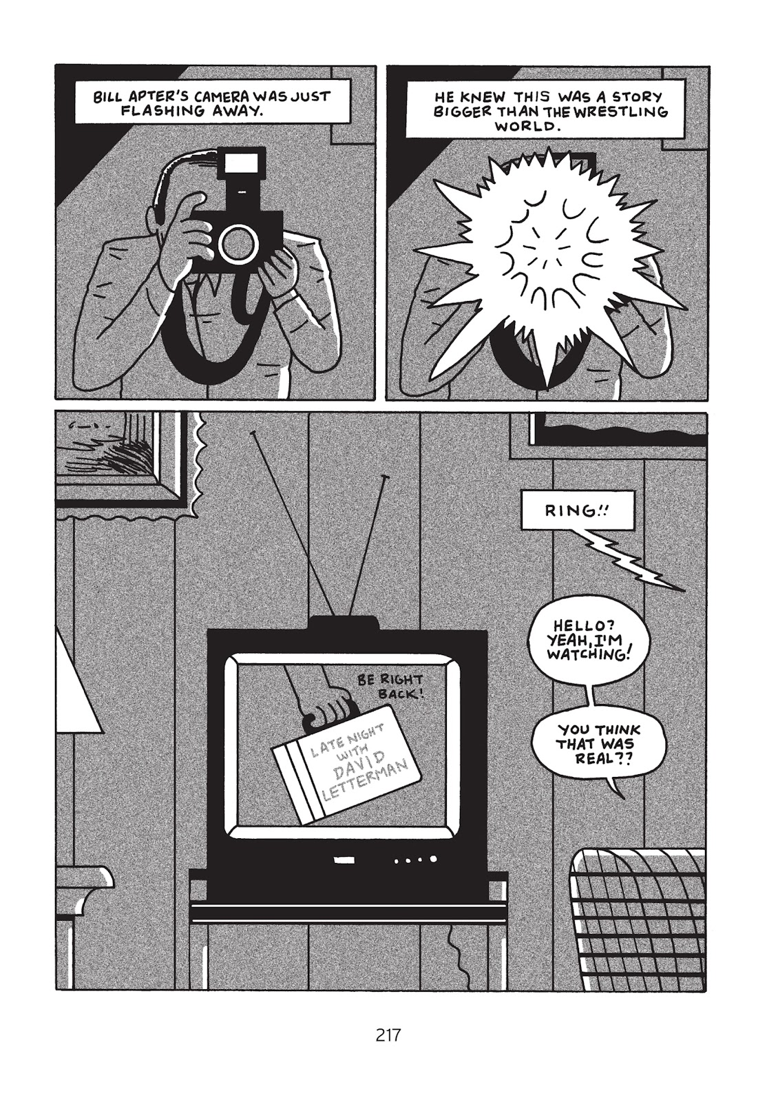 Read online Is This Guy For Real?: The Unbelievable Andy Kaufman comic -  Issue # TPB (Part 3) - 22