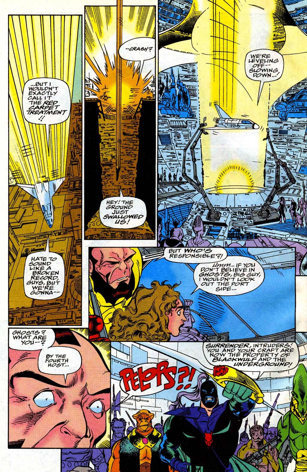 Read online Blackwulf comic -  Issue #8 - 10