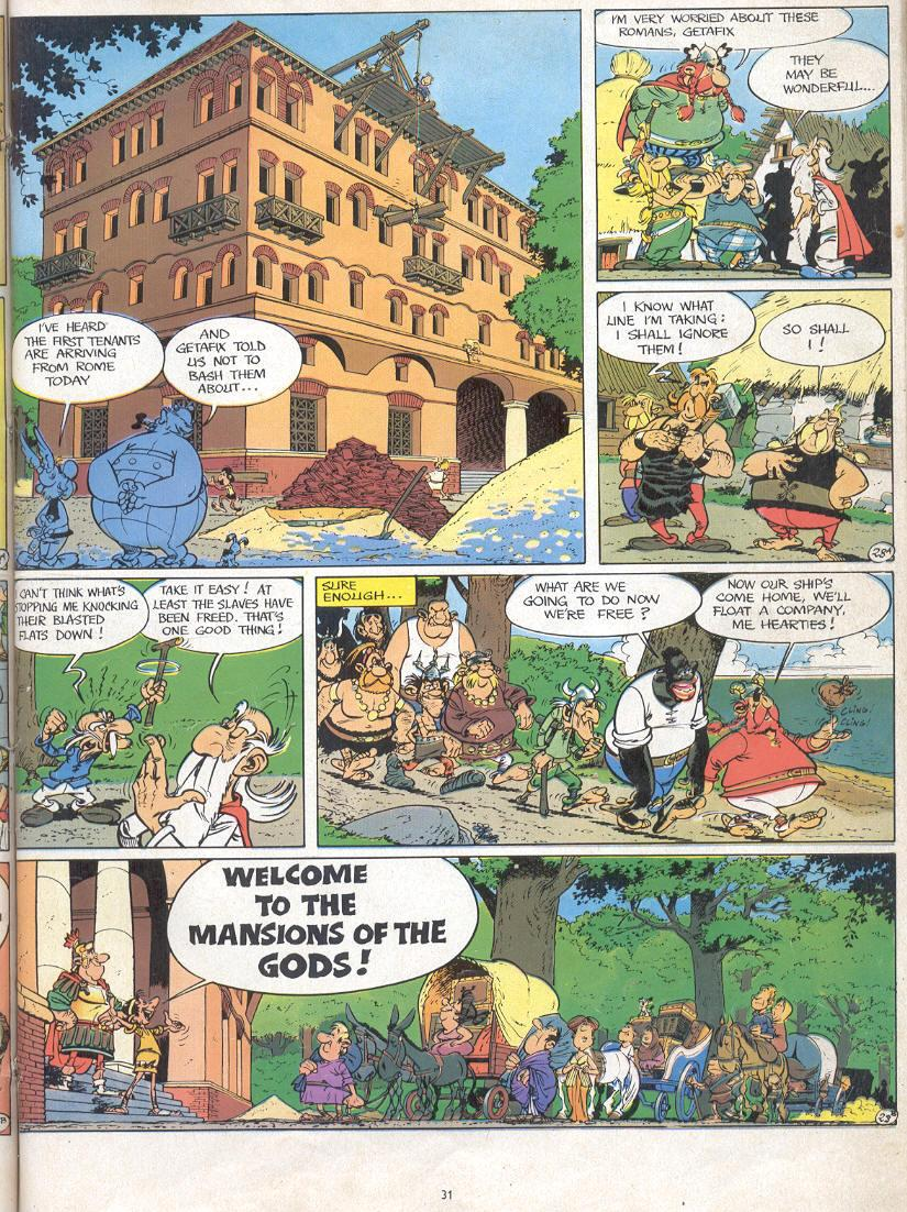 Read online Asterix comic -  Issue #17 - 29