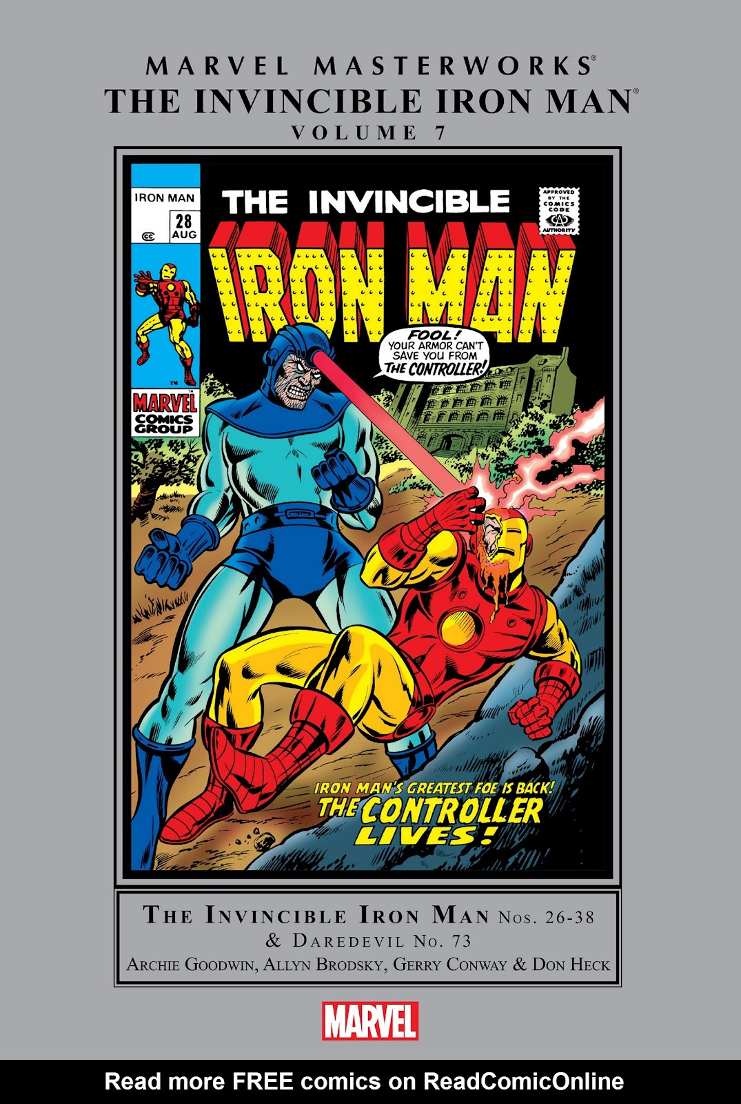 Read online Marvel Masterworks: The Invincible Iron Man comic -  Issue # TPB 7 (Part 1) - 1