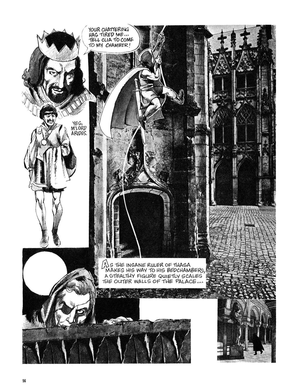 Read online Eerie Archives comic -  Issue # TPB 8 - 57
