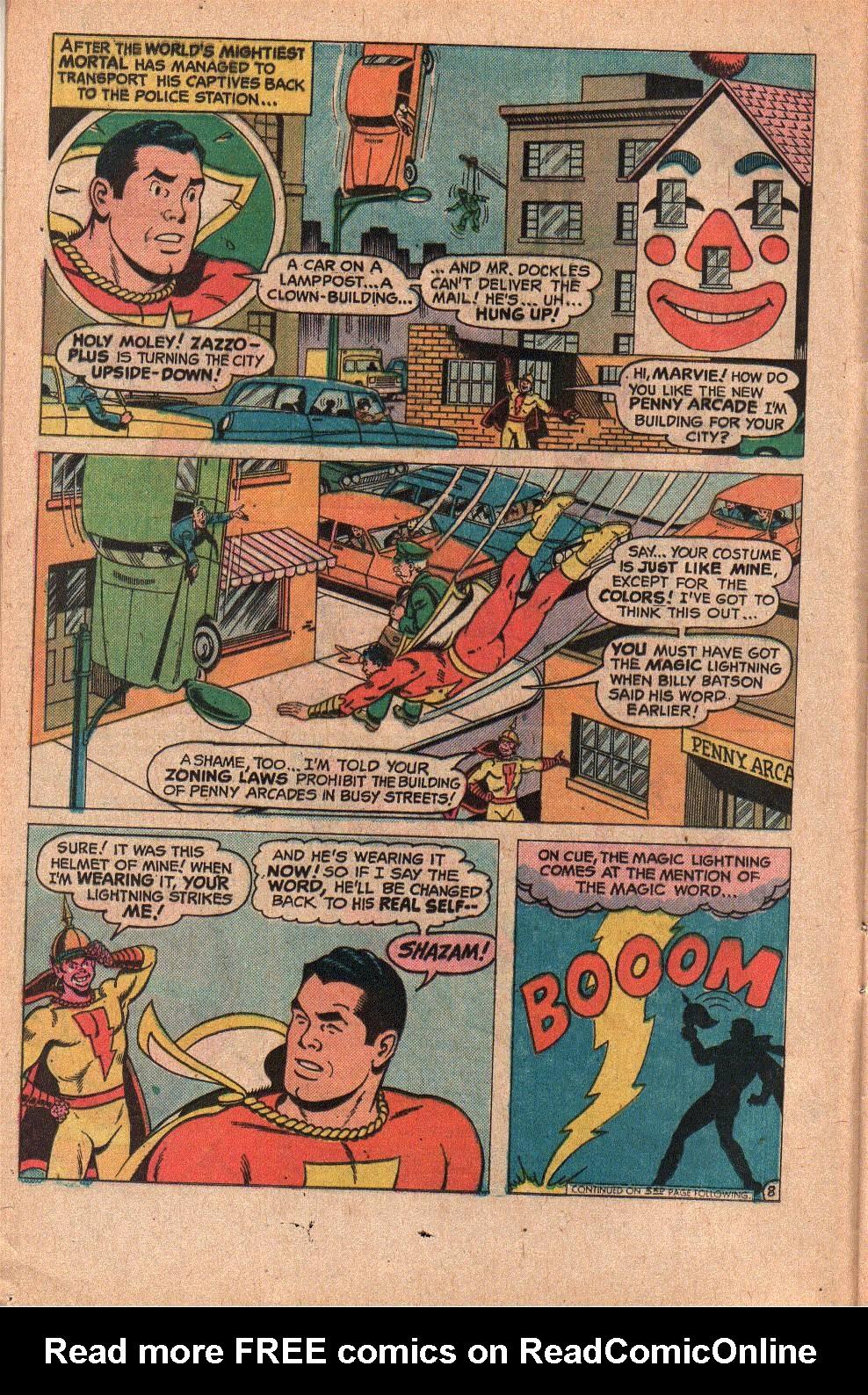 Read online Shazam! (1973) comic -  Issue #19 - 12
